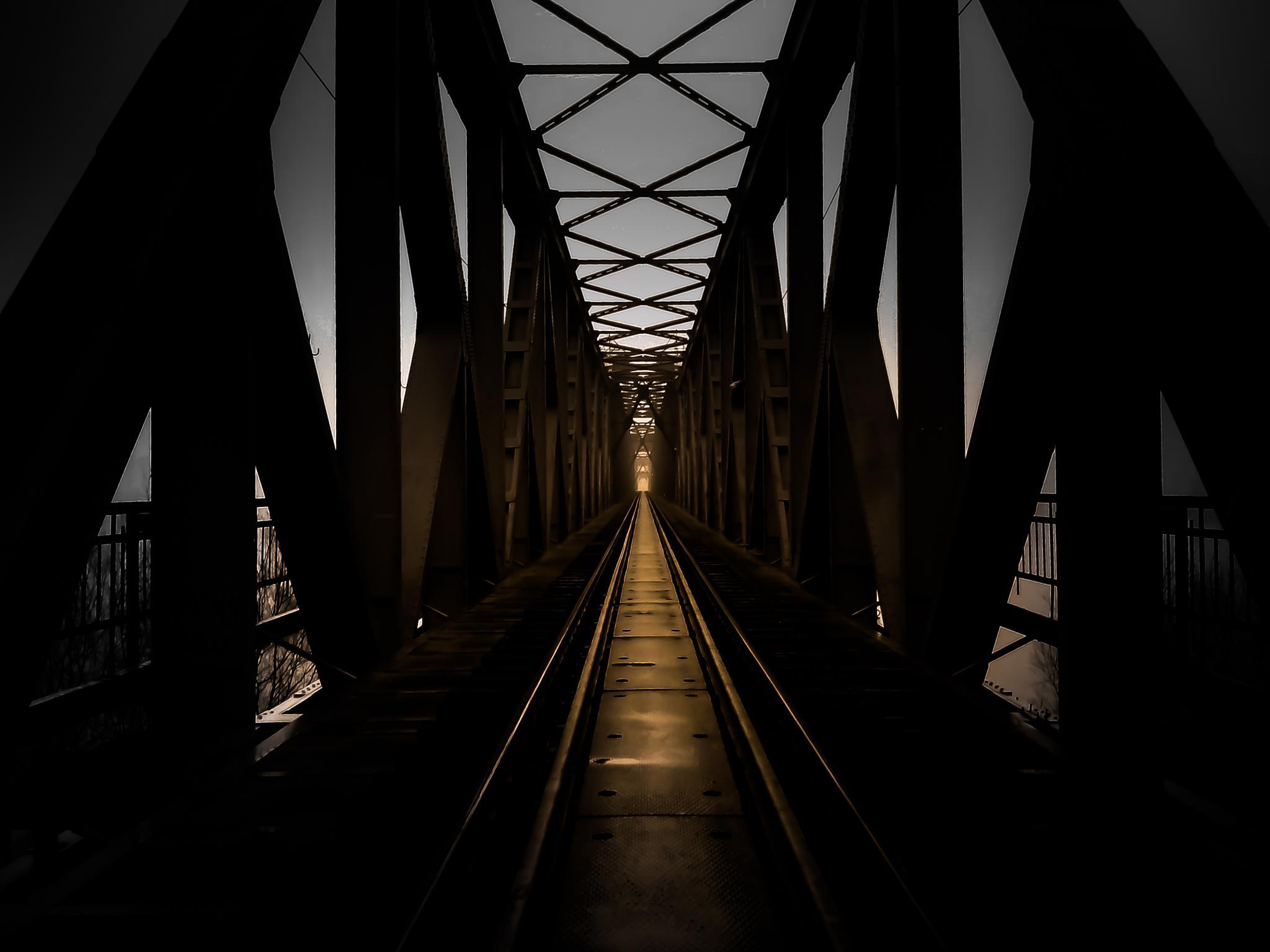 """Old bridge"" by Ninchy"