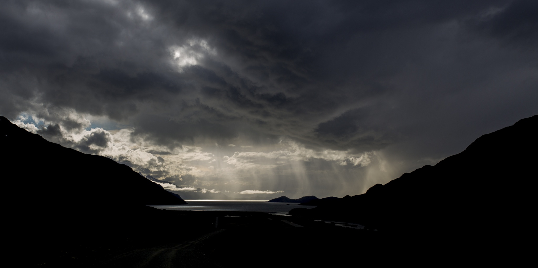 Light after strom by  Christian Kirk