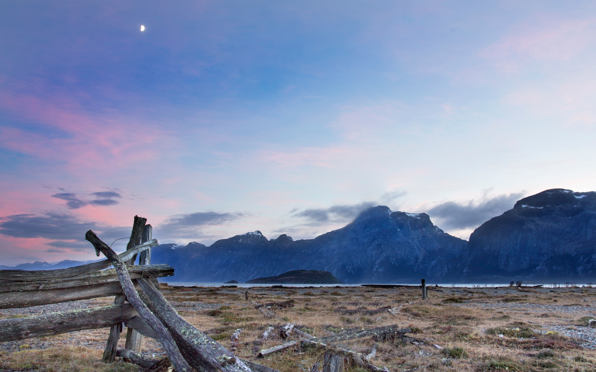 Moon in the Morning by  Christian Kirk