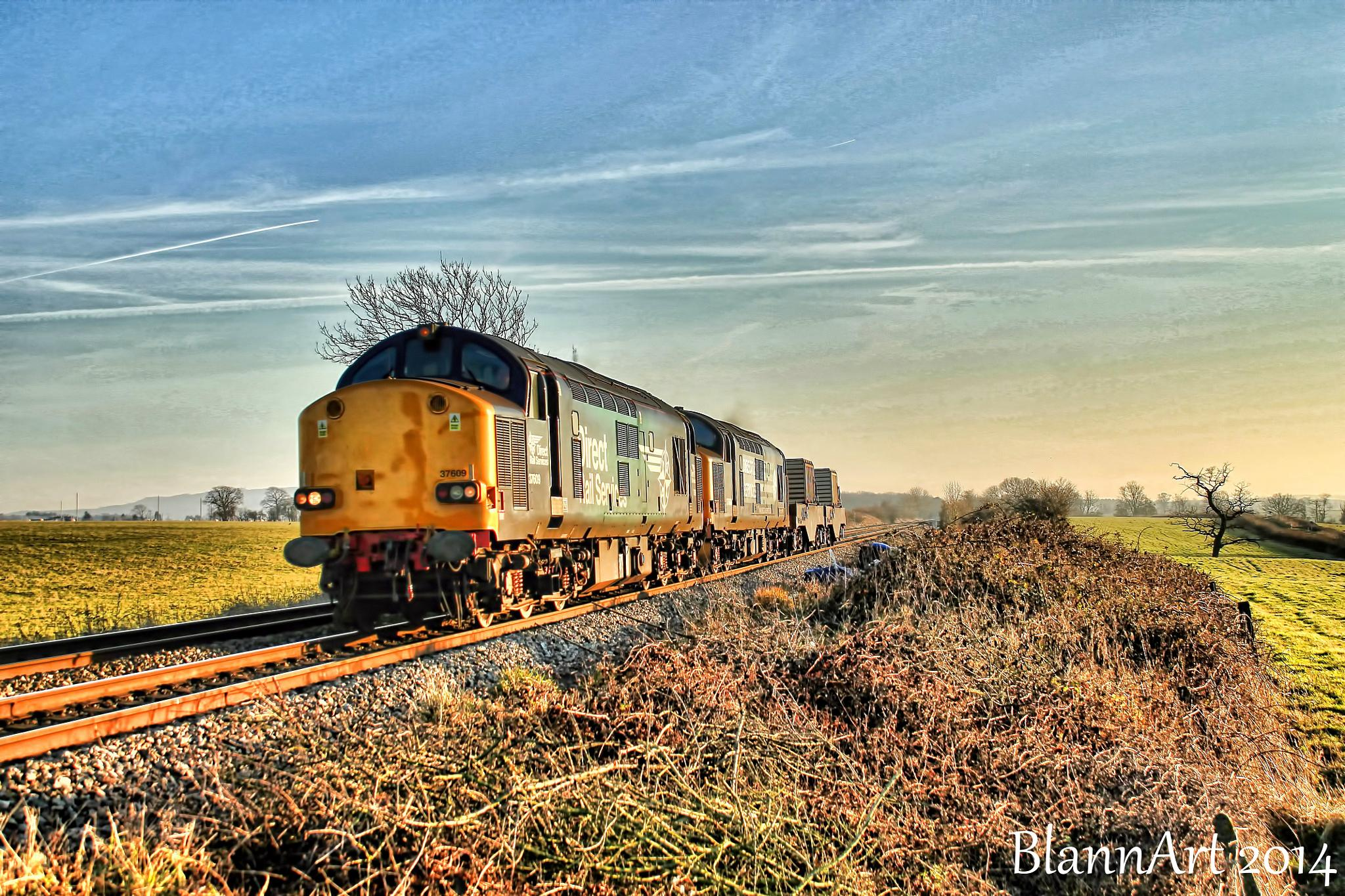 Afternoon Freight by Phil Blann