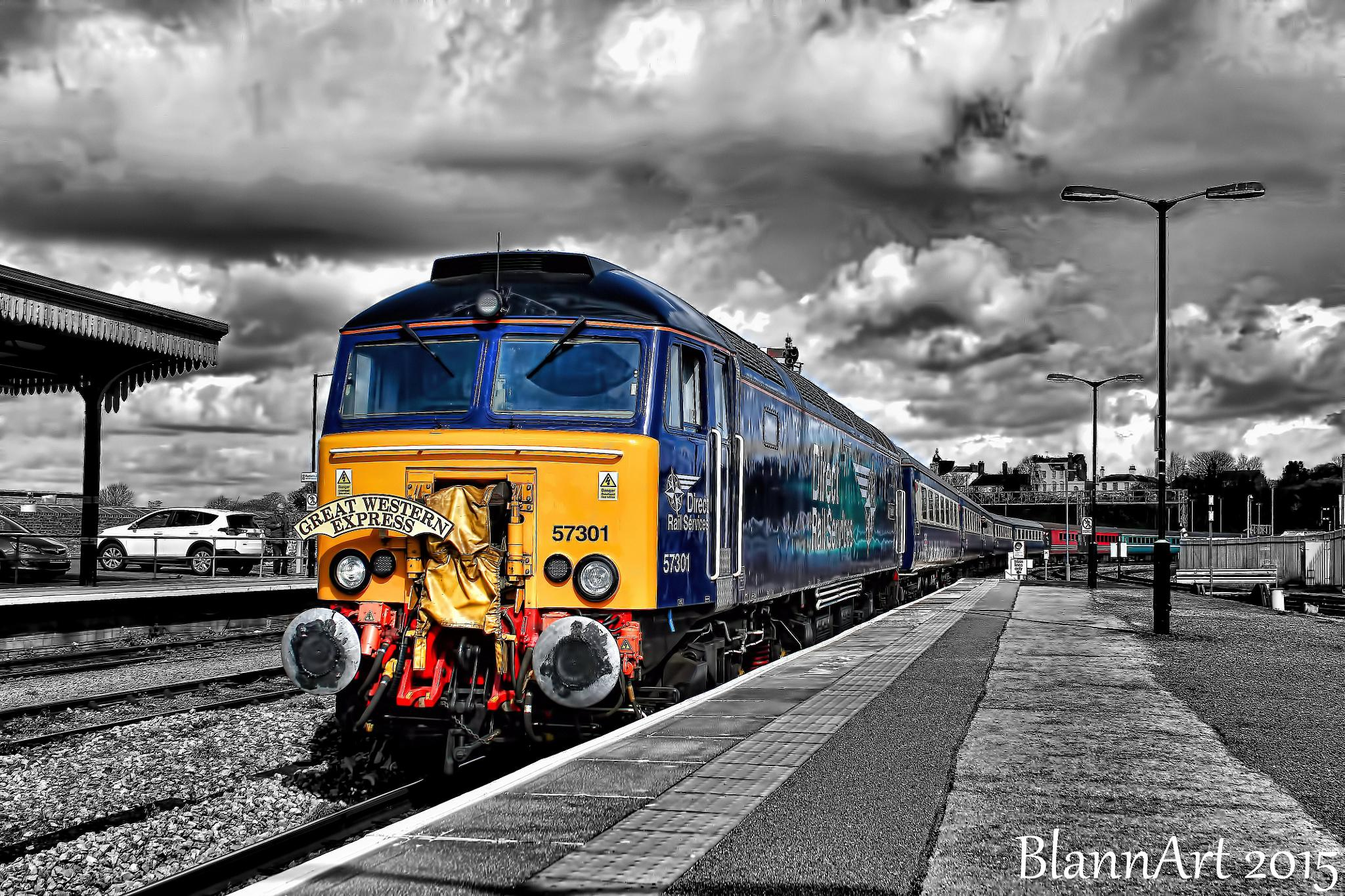 The Great Western Express by Phil Blann