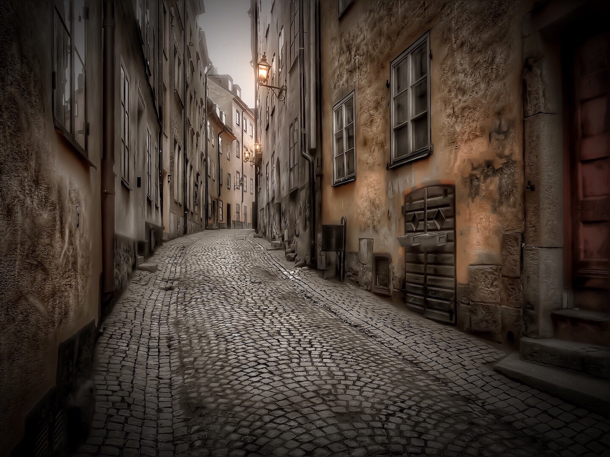 Old Town Stockholm by RONNIE ERICSON