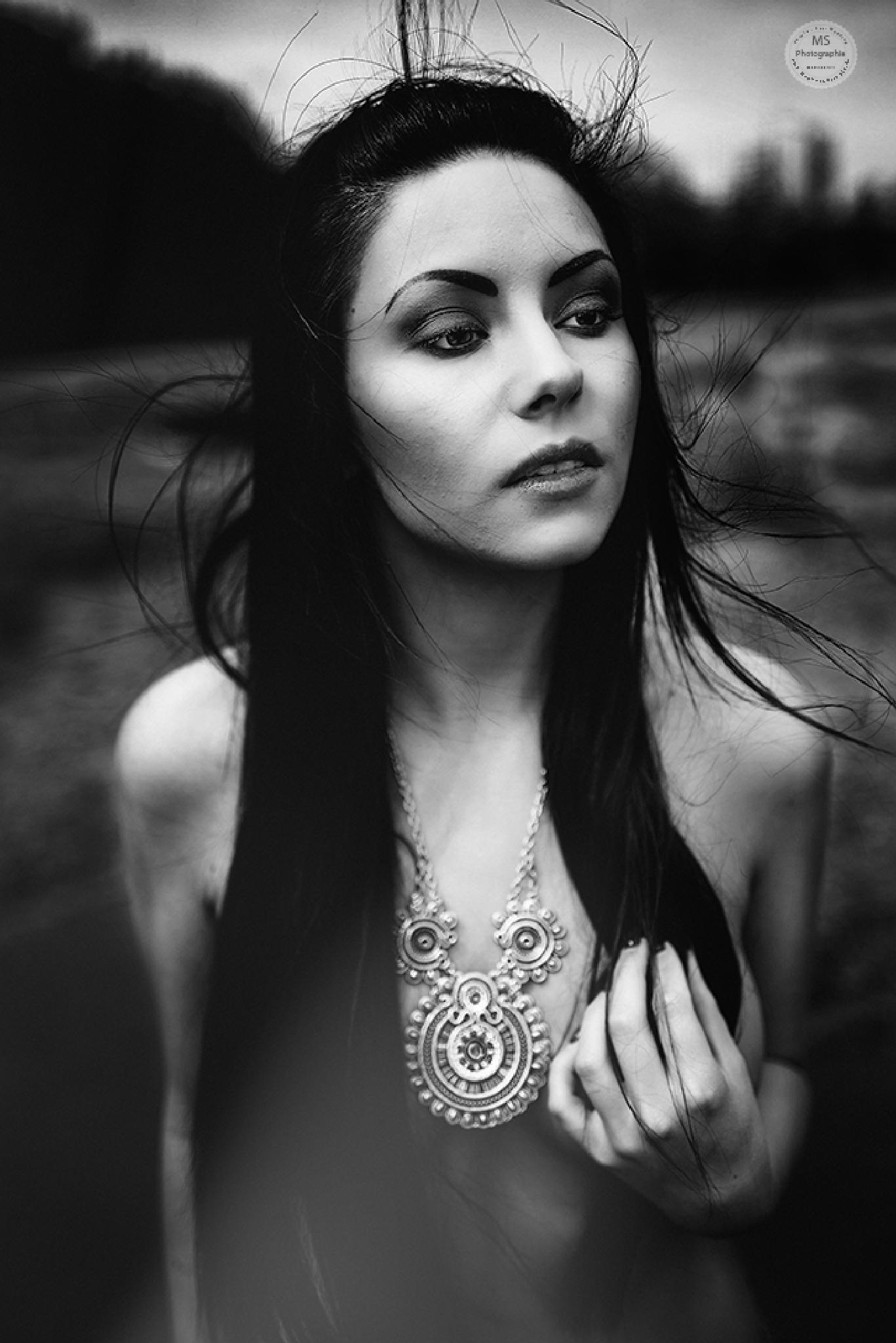 Female Nude - The Chain by Martin Slotta
