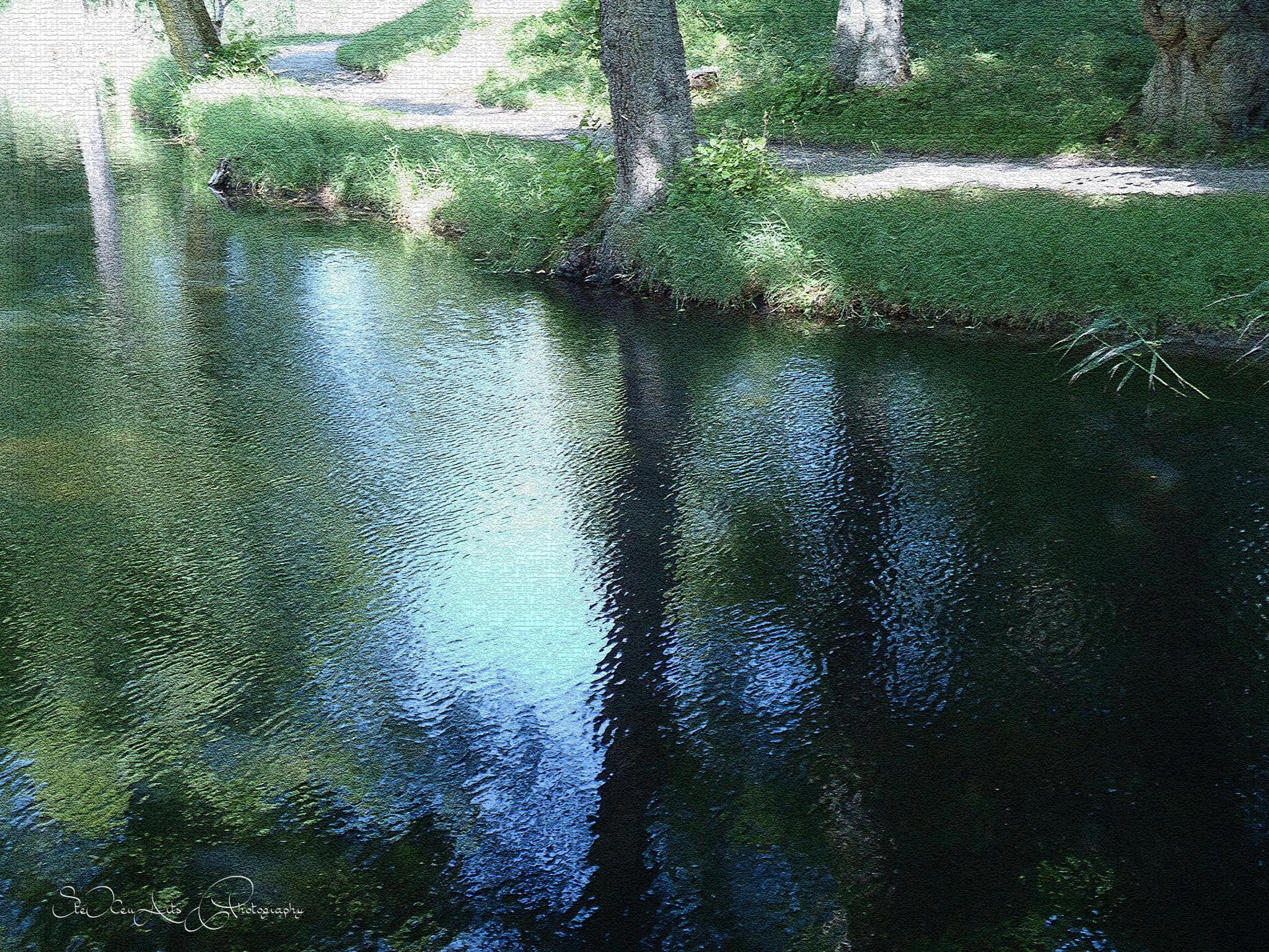 green reflection - take 5 by Sanna