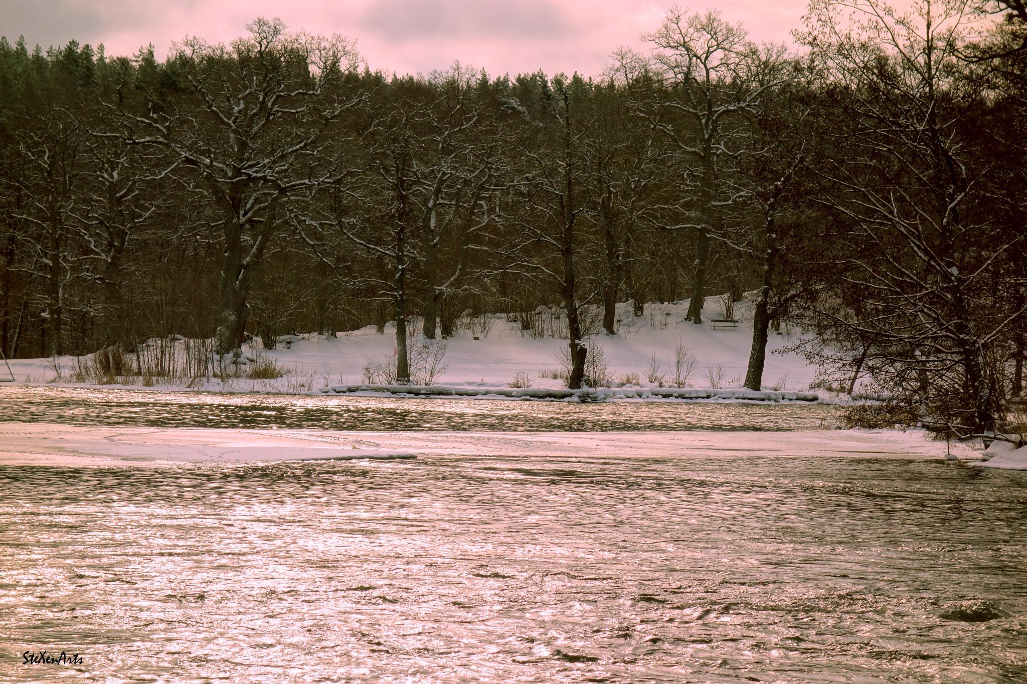 ... when the river begin to run.... by Sanna