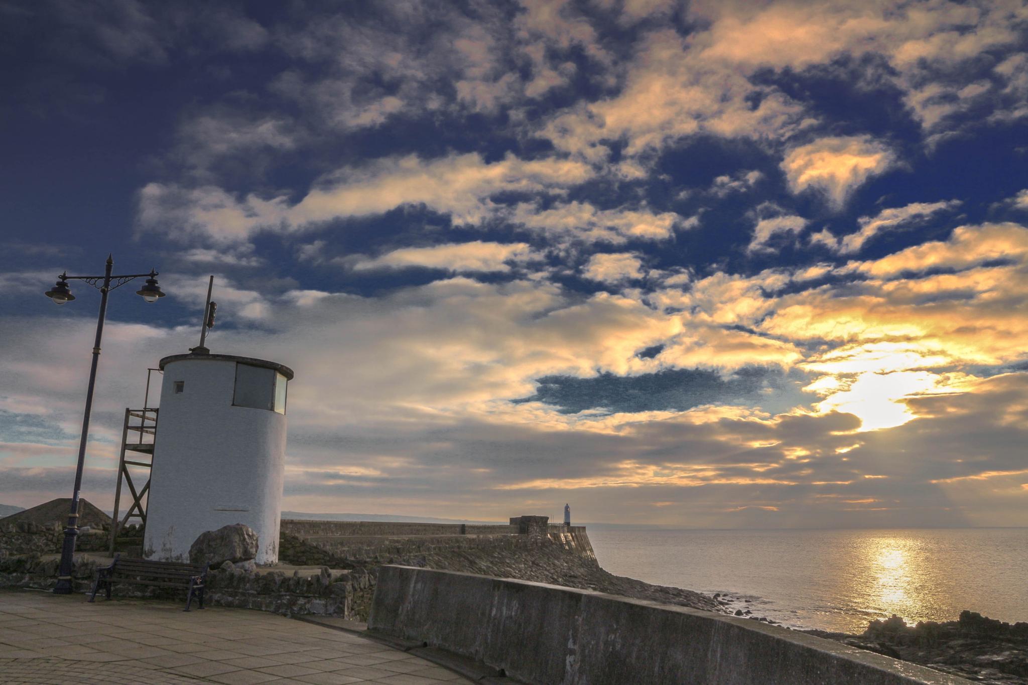 Porthcawl Coastguard, South Wales UK by Jon Franks