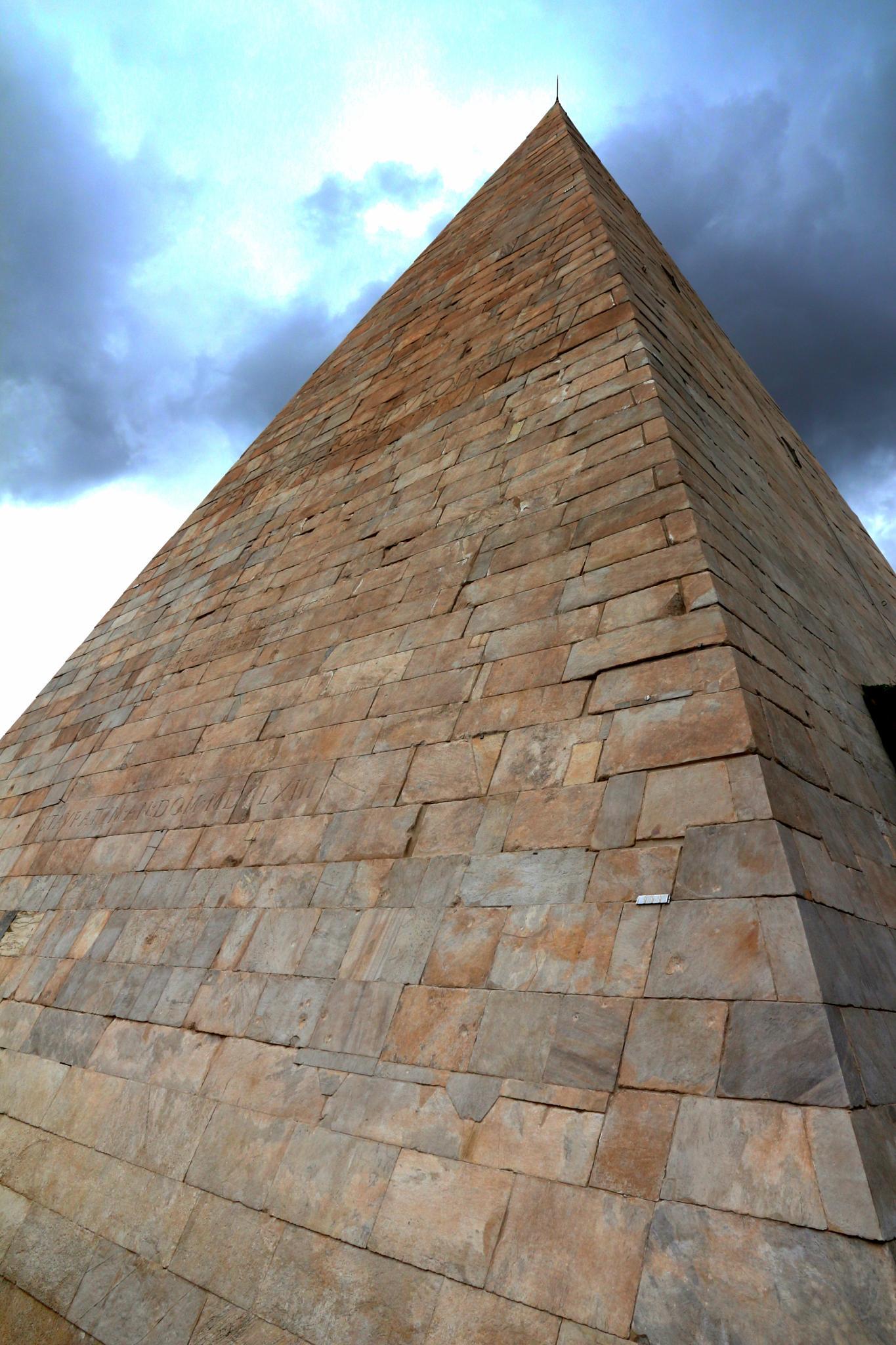 Mausoleum- Rome by Jon Franks