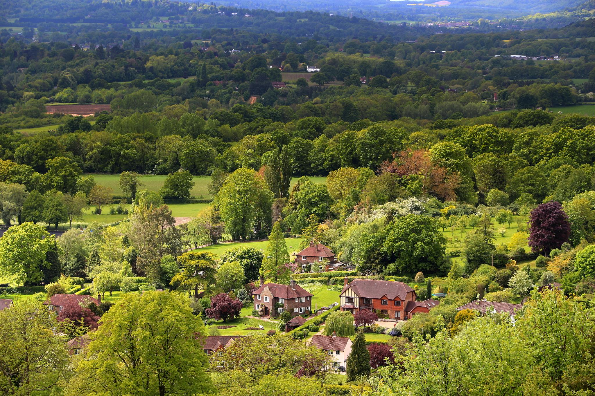 'England's Green and Pleasant Land...' by Jon Franks