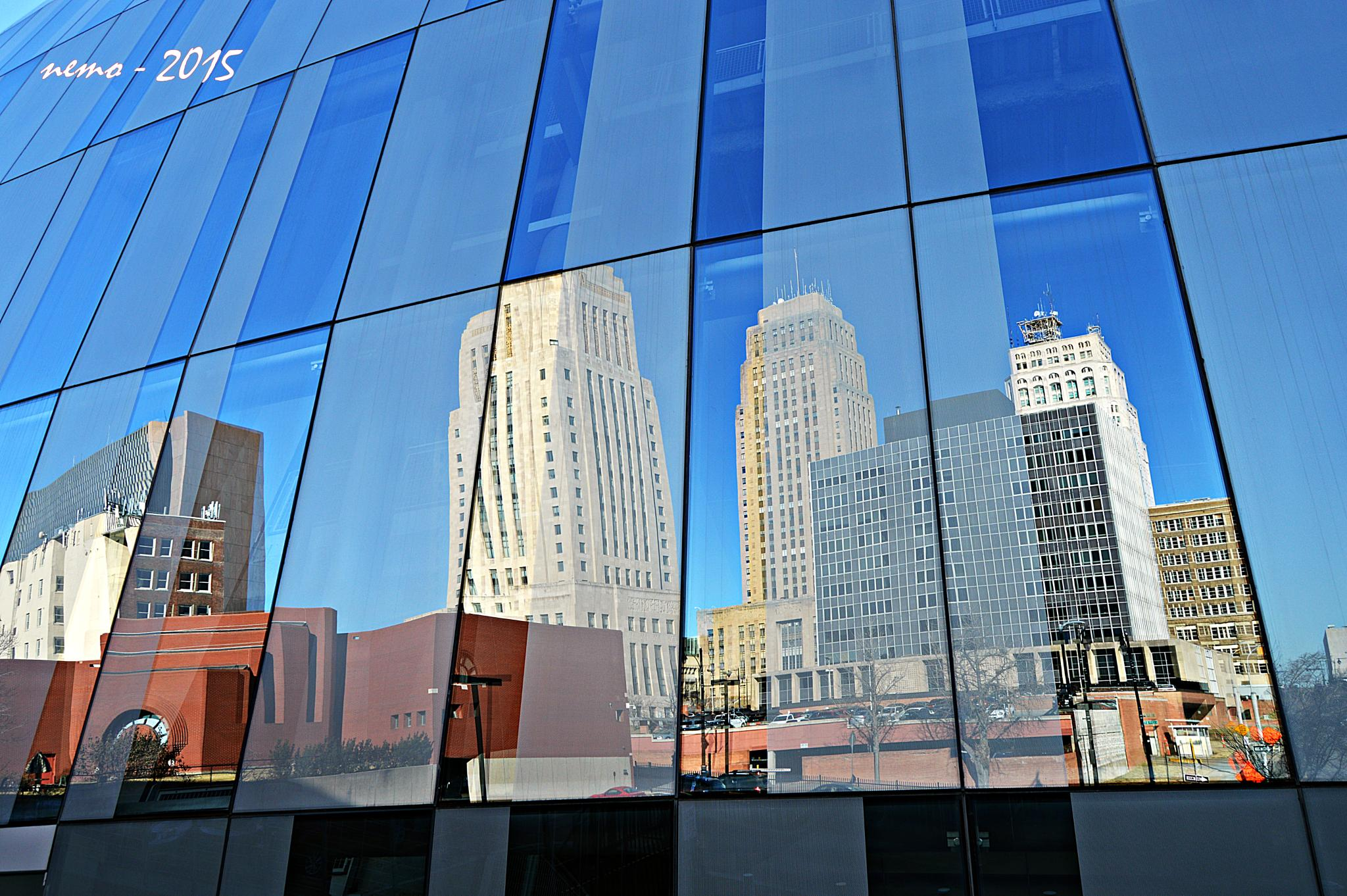 Cityscape Reflections 2 by Nemo