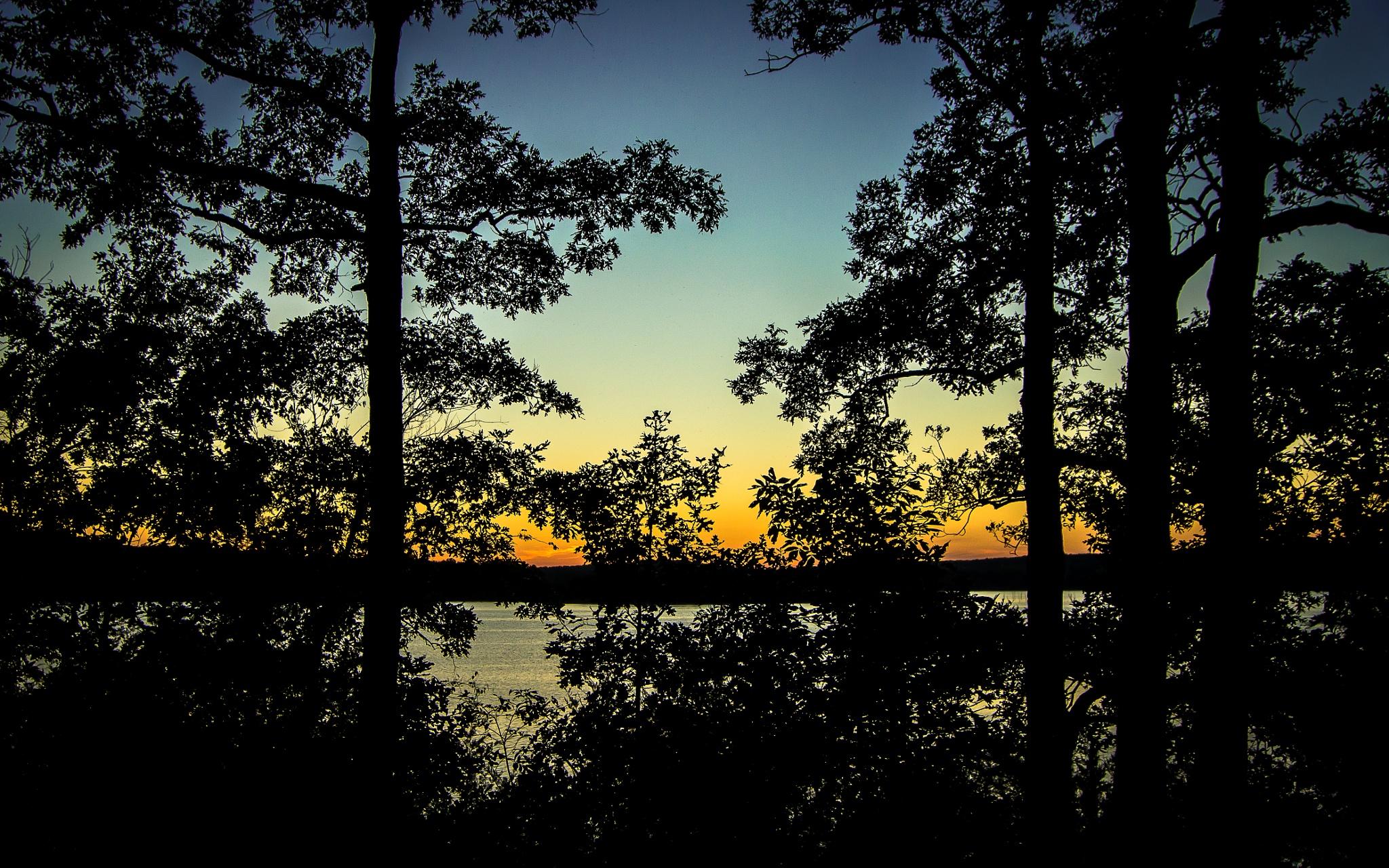 Lake Sunset by Nemo