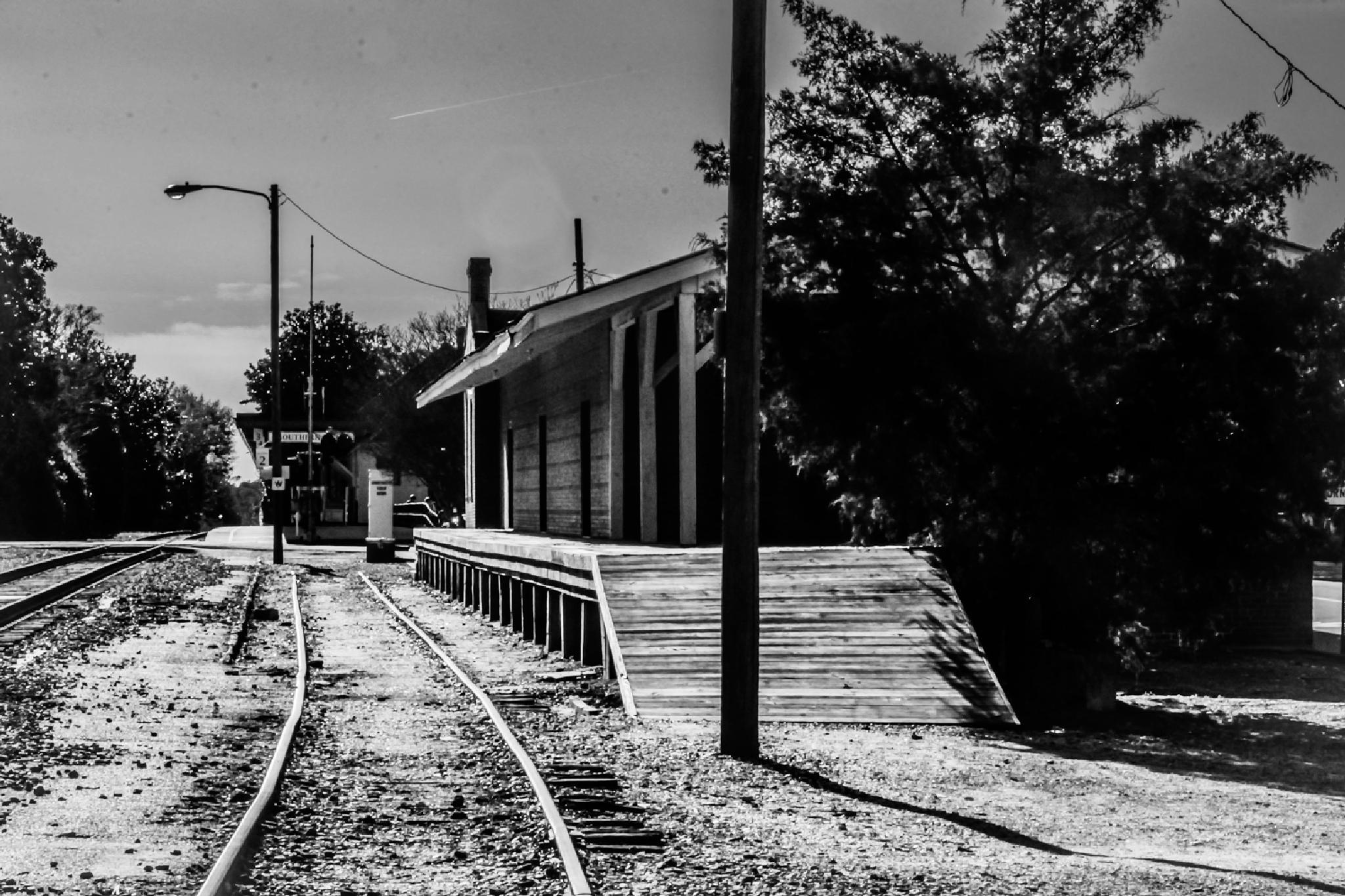The Old Freight Station by NaturesVeiwsPhotography