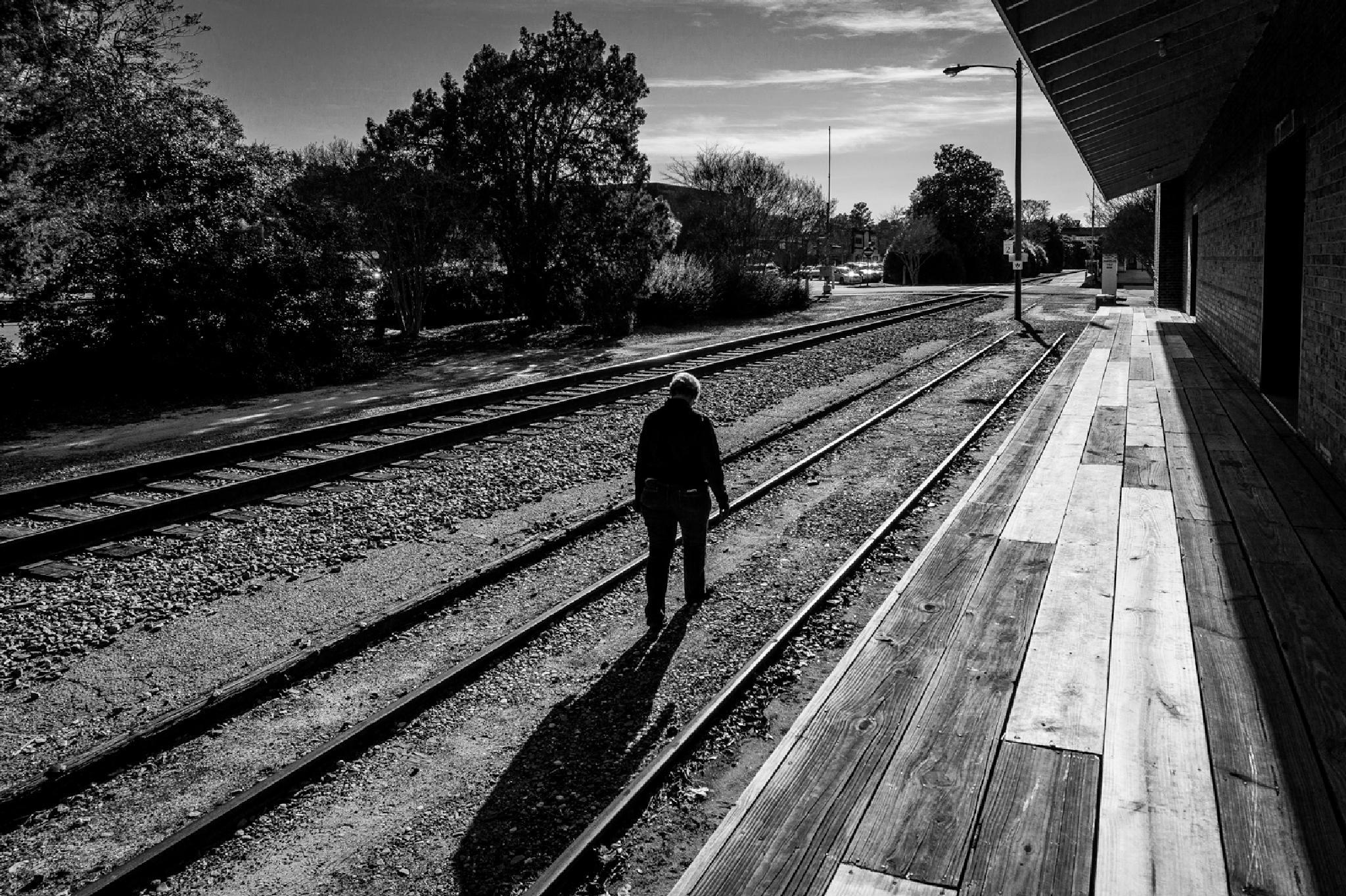 Walkin the Rails by NaturesVeiwsPhotography