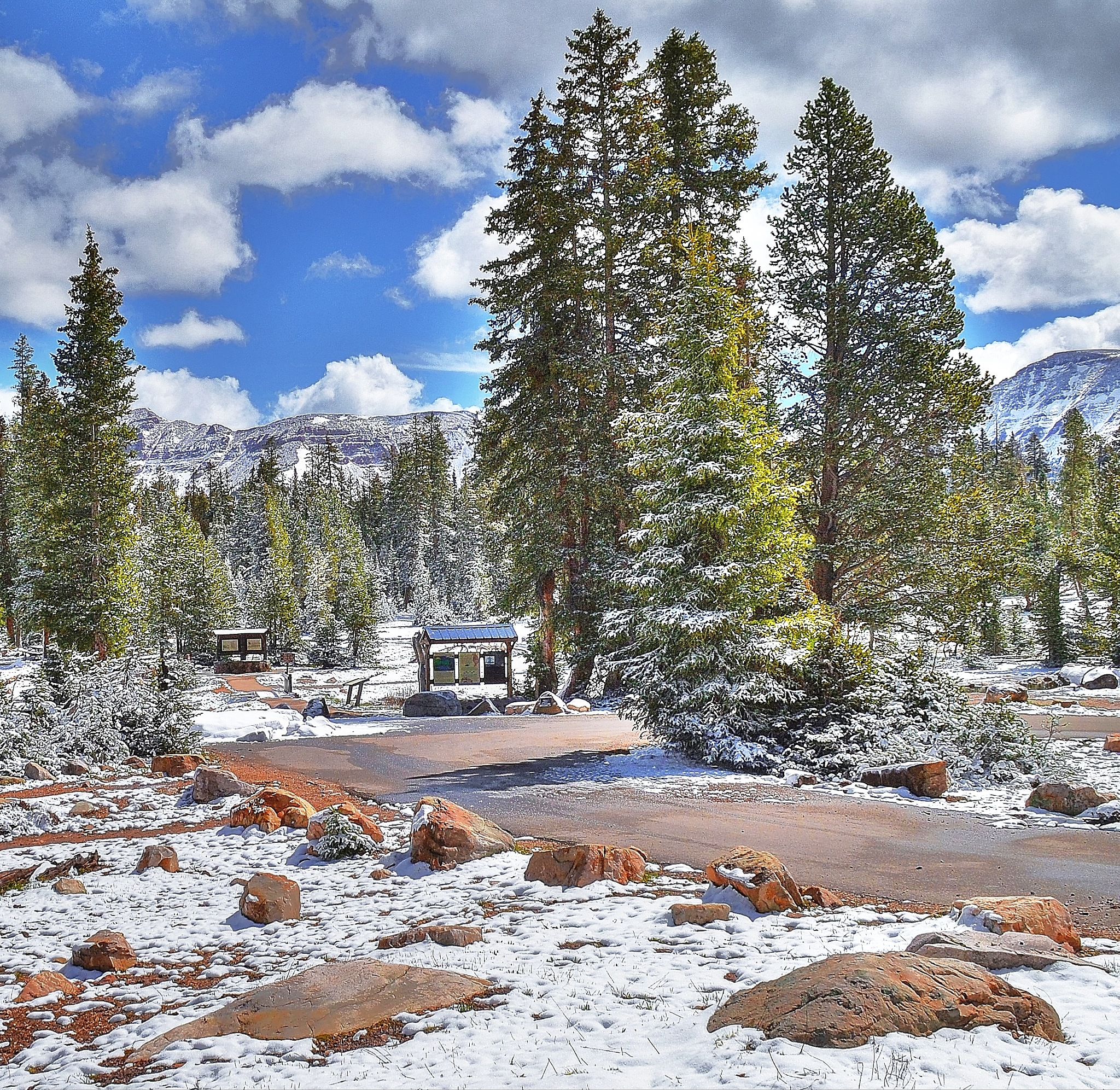 Mirror Lake Camp Ground by ghost