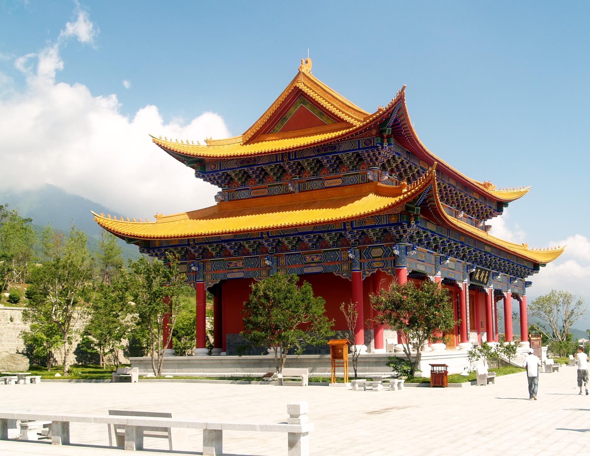 colorful temple by ester.ayerdi