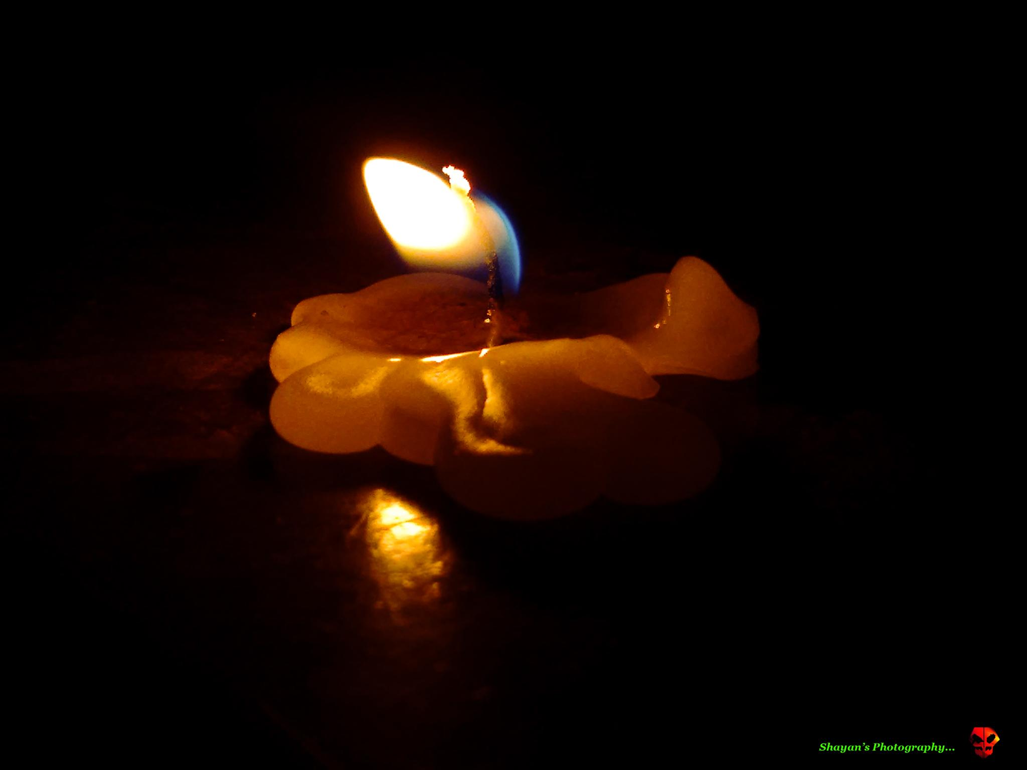 The last flame.. by shayan.bhattacharjee.5