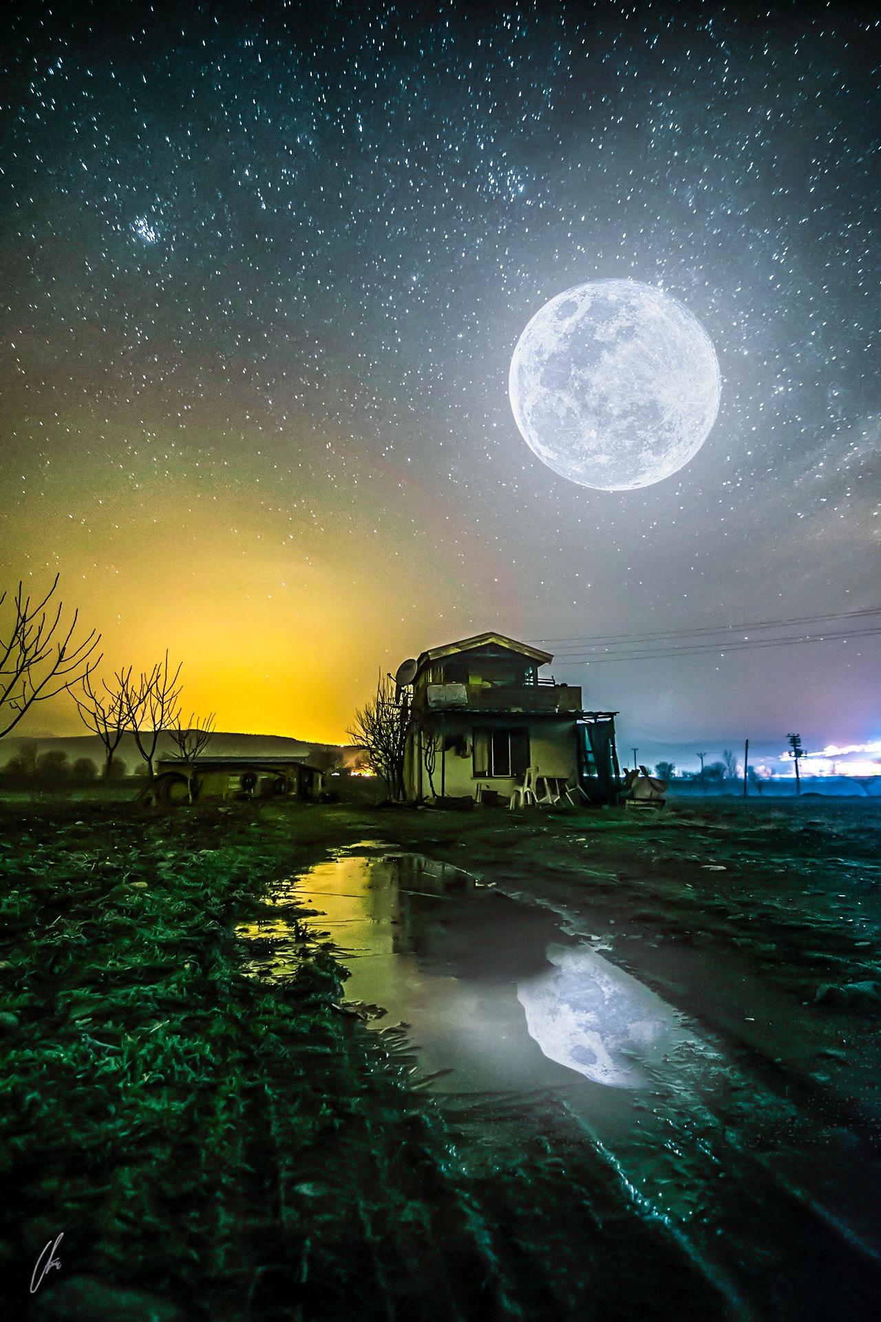 moon and hause by ufuk.salur