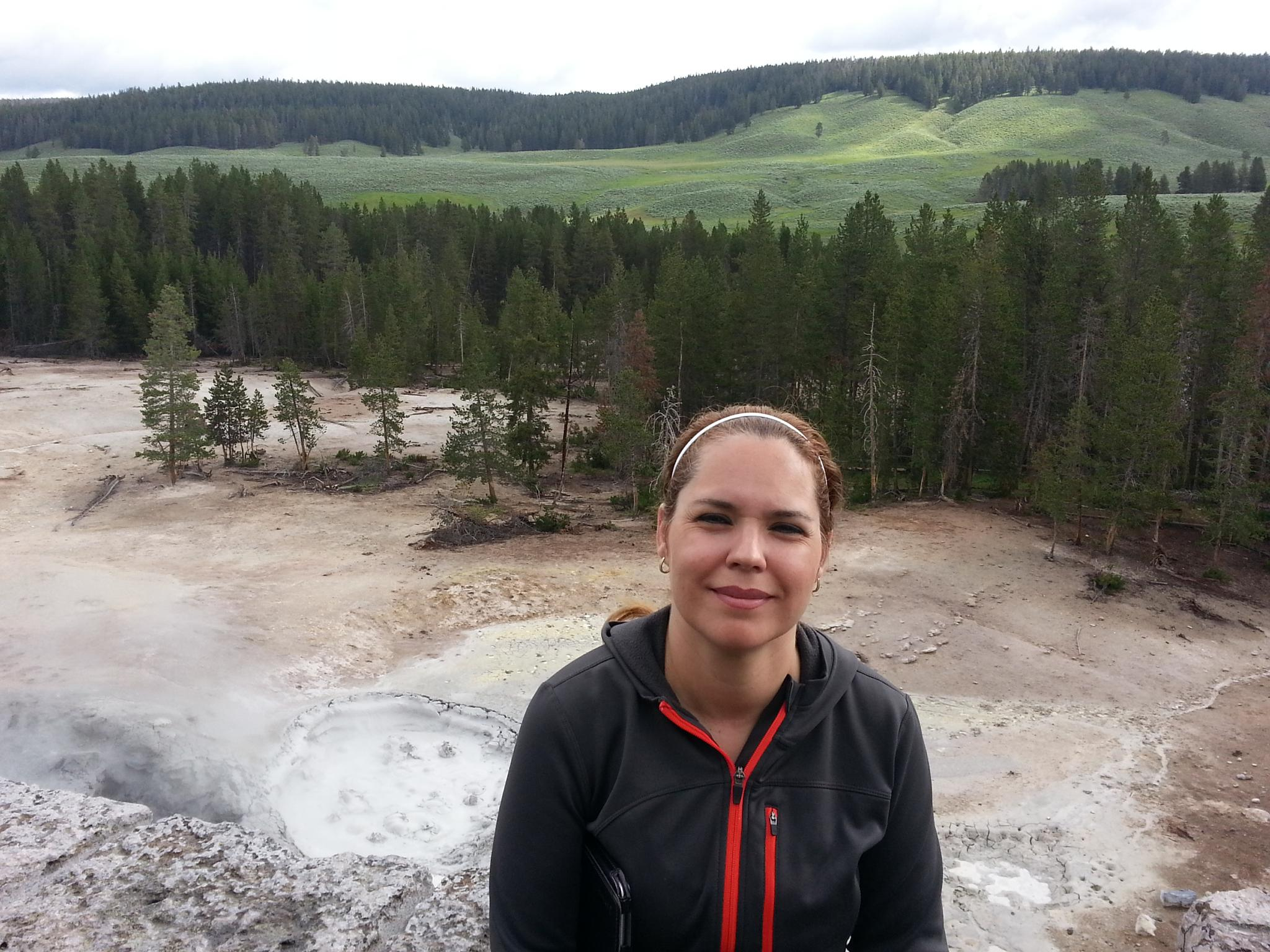 Landscape portrait at Yellowstone 1 by drcarlosesparza