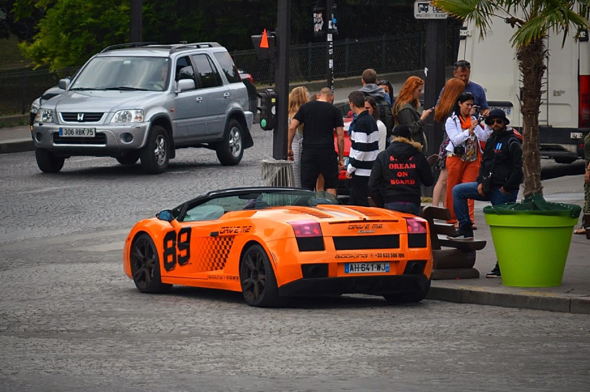 Lamborghini - Paris by drcarlosesparza