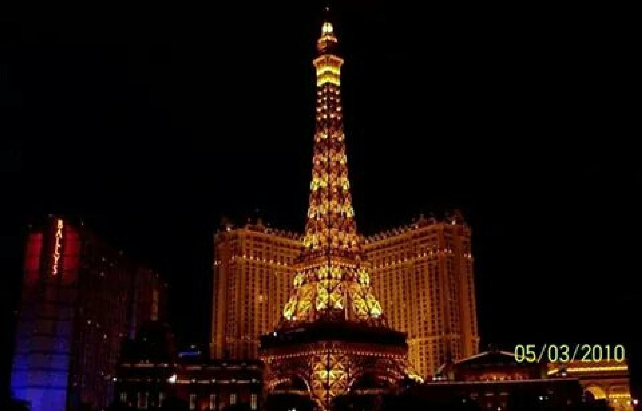 las vegas paris hotel by desiree johnson