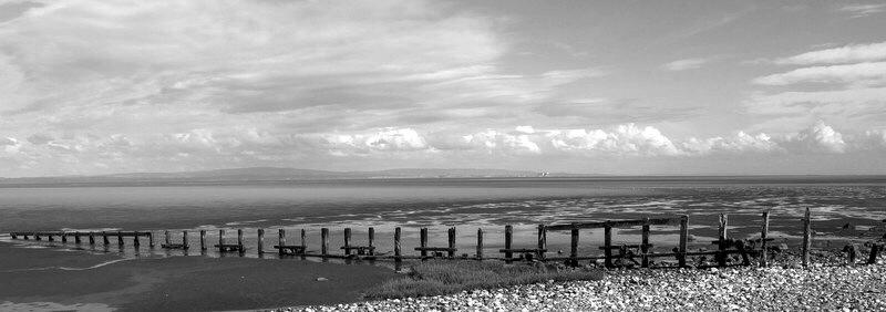Morecambe Bay Cumbria uk...bw03081047 by Michael jjg