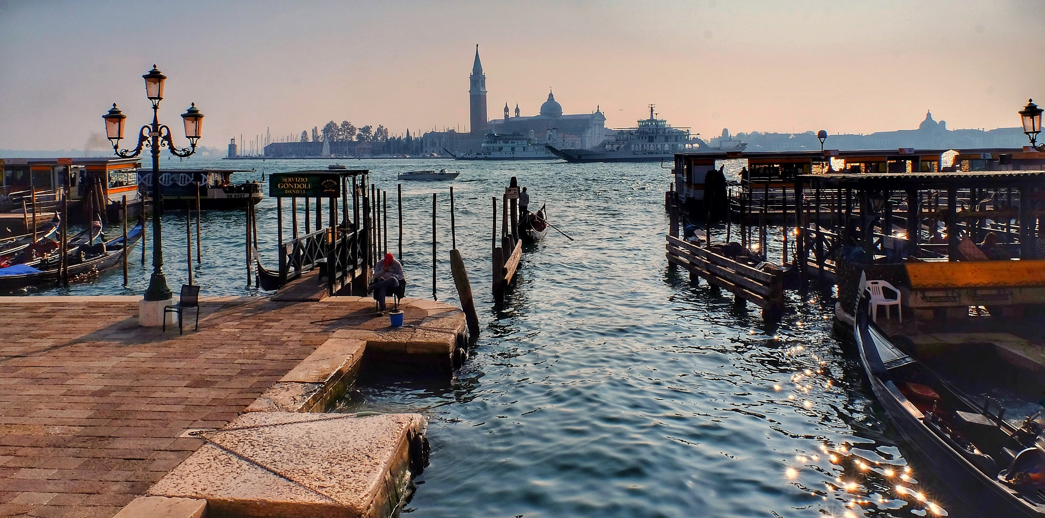 Venice Waterfront...080603 by Michael jjg