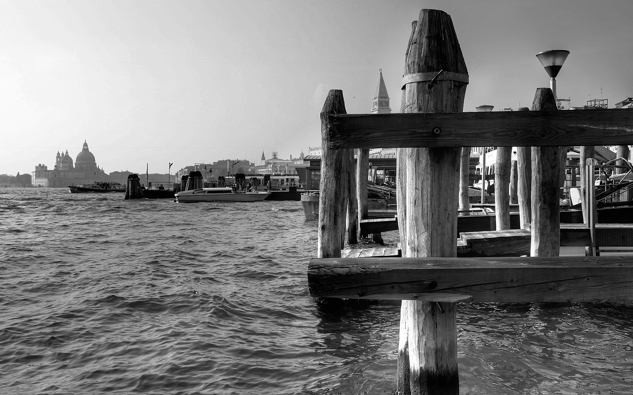 Venice Waterfront...bw080606 by Michael jjg