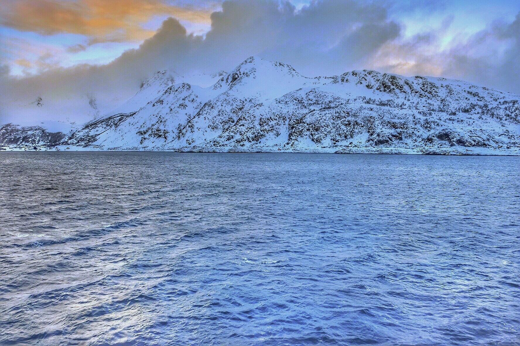 Norwegian  Coastline...vi by Michael jjg