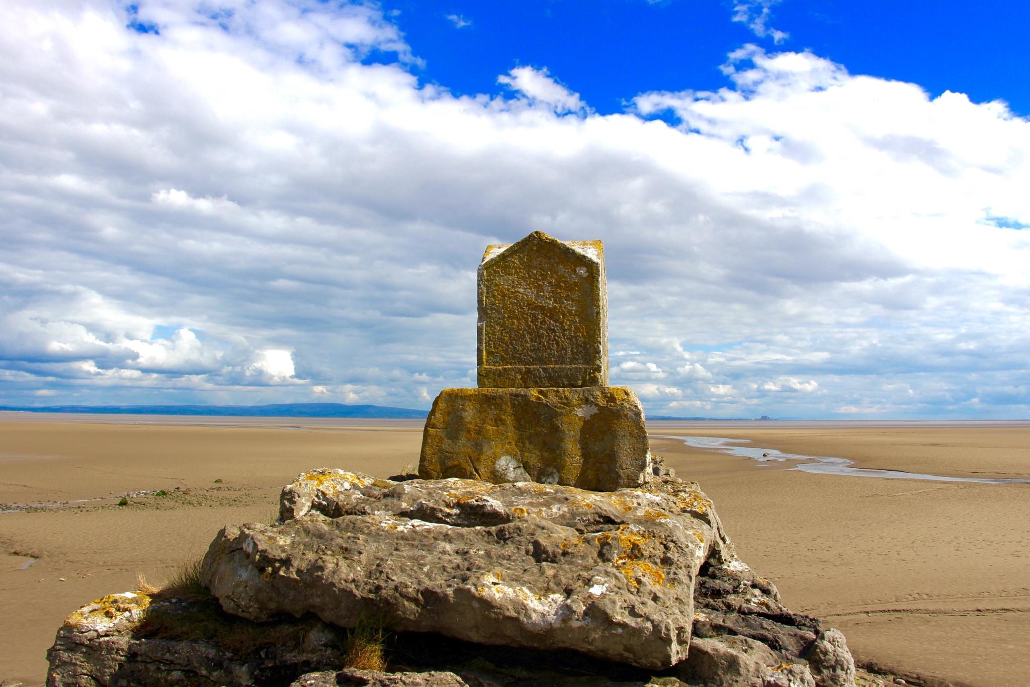 Bardsea Beach on Morecambe Bay Cumbria... by Michael jjg