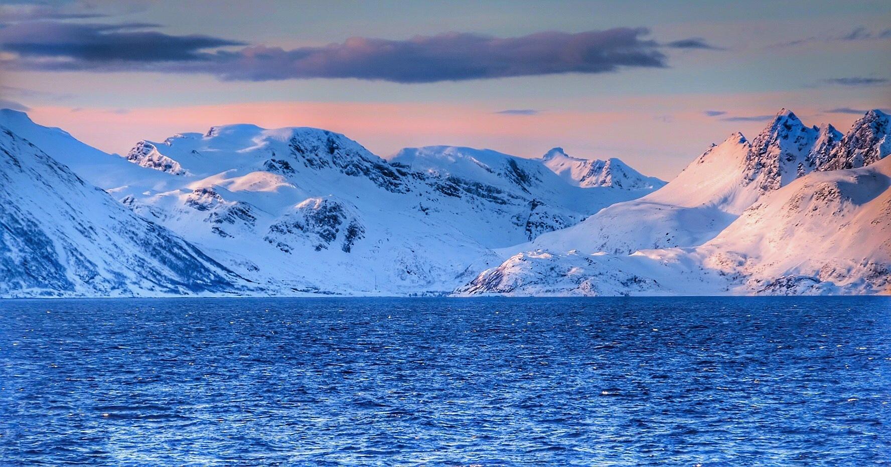 Norwegian  Coastline...vii by Michael jjg