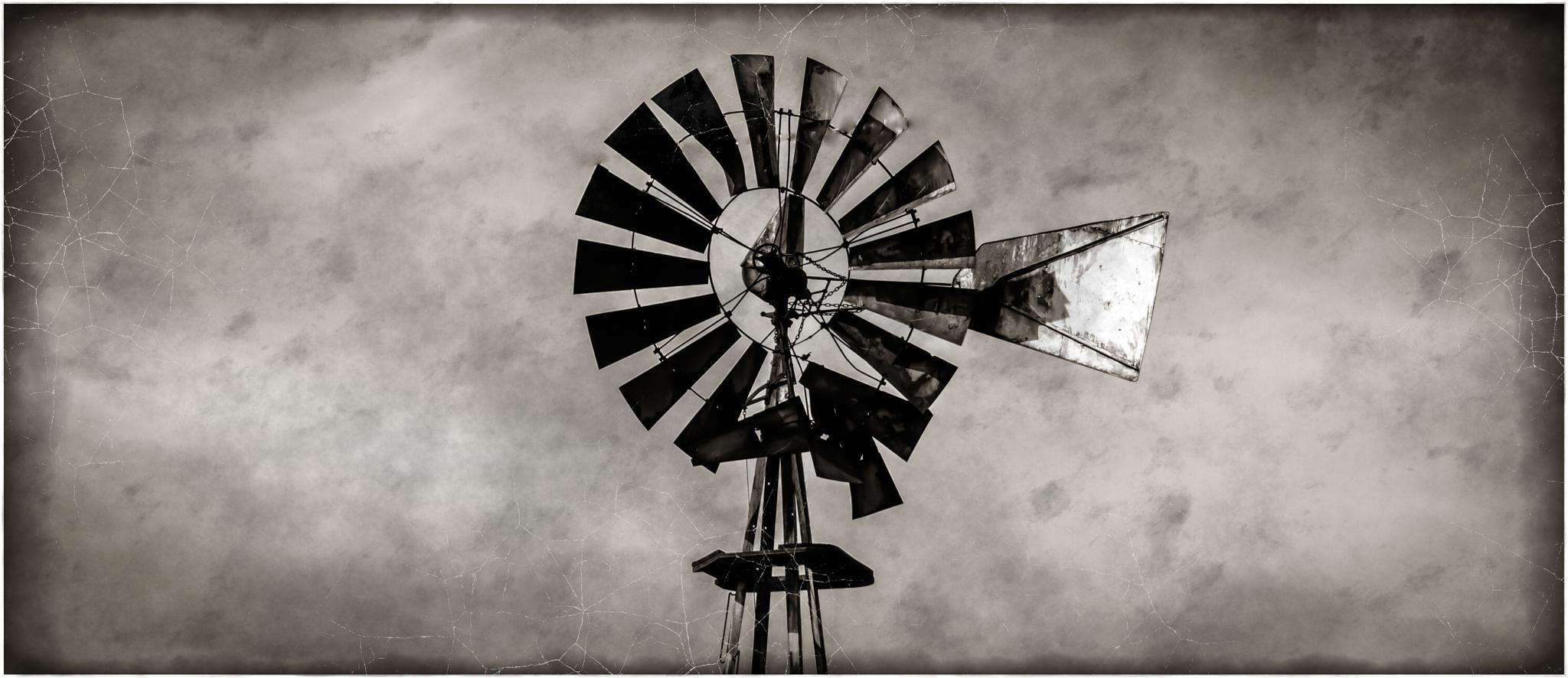 Aged Windmill by douglas.hamilton.984