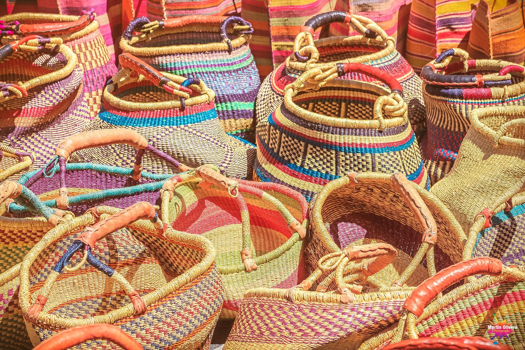 Baskets Anyone??? by Martin G. Olivera
