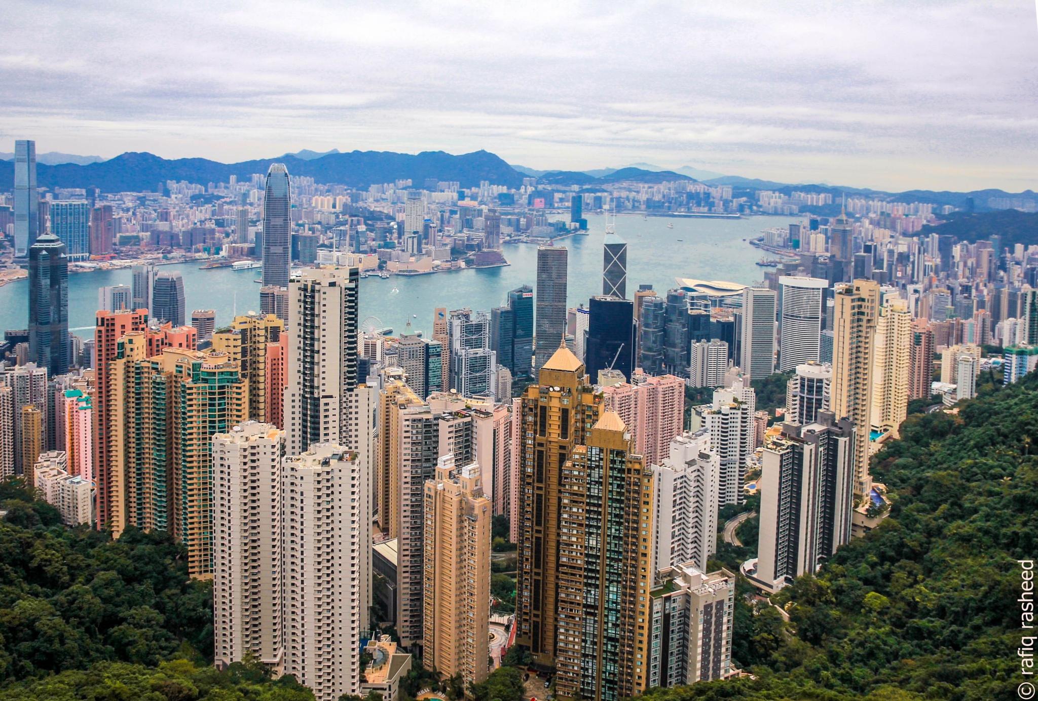 Victoria Peak, Hong Kong by rafiq
