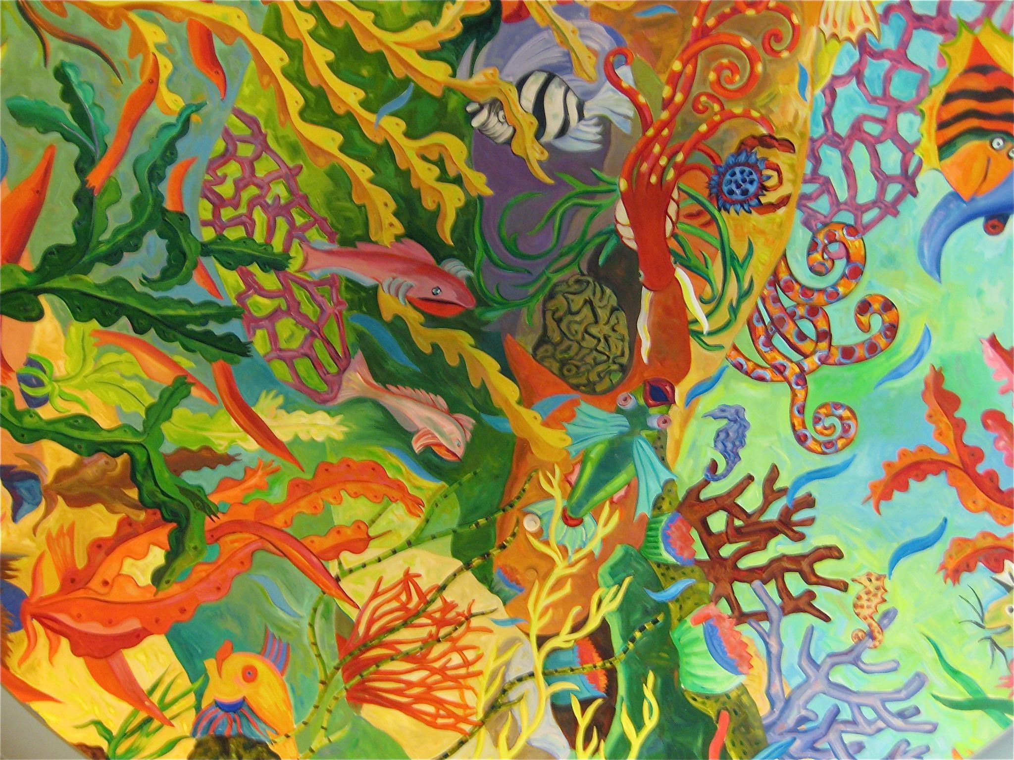 Plenty of fish by Hannah Le Bail
