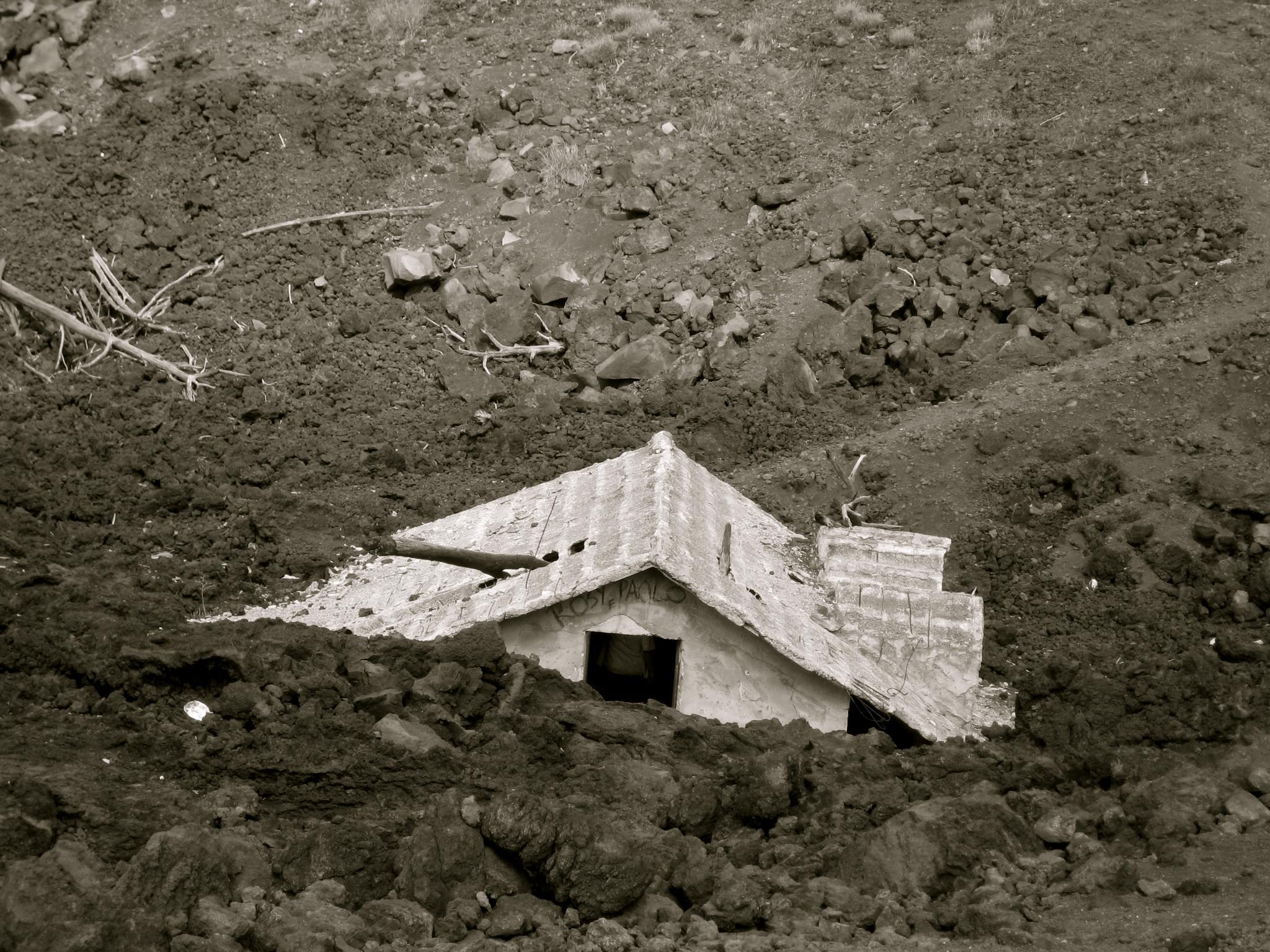 House under Etna by Hannah Le Bail