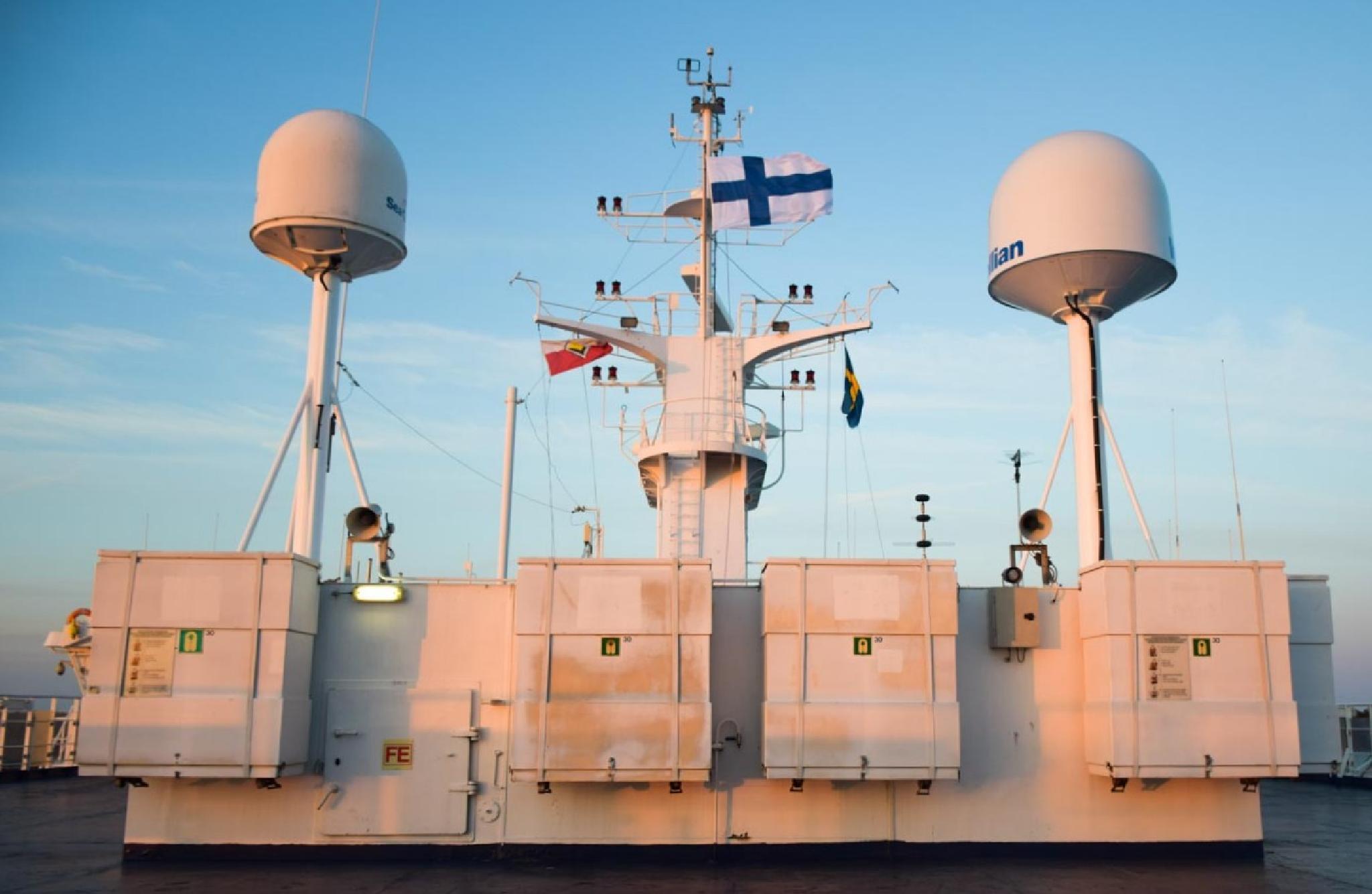 Radars on Boat Deck  by aronrielle
