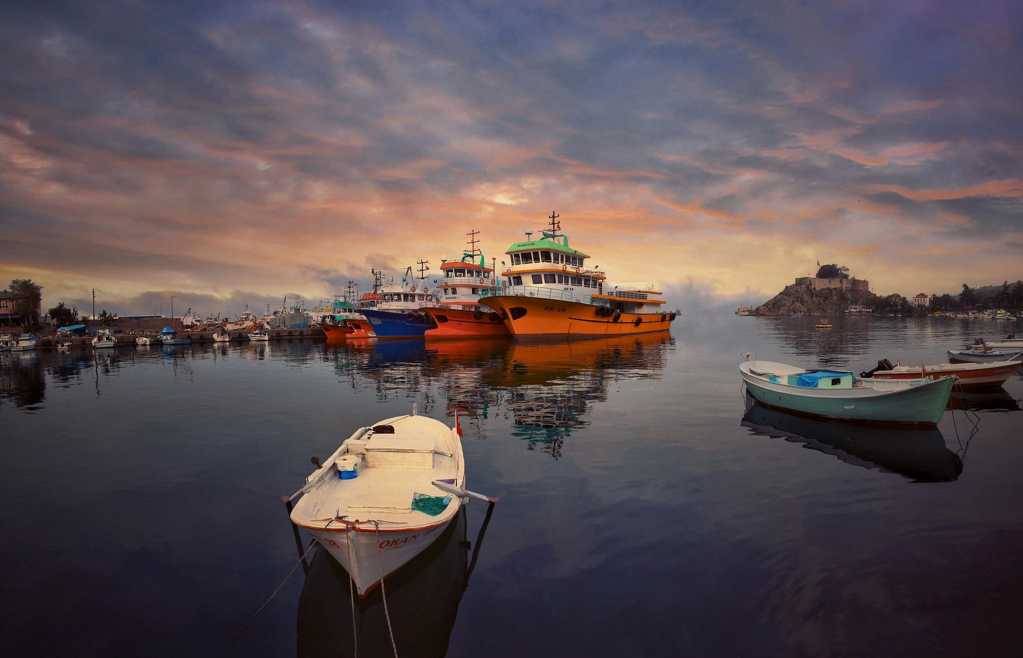 Tirebolu Liman by omerfarukdomac