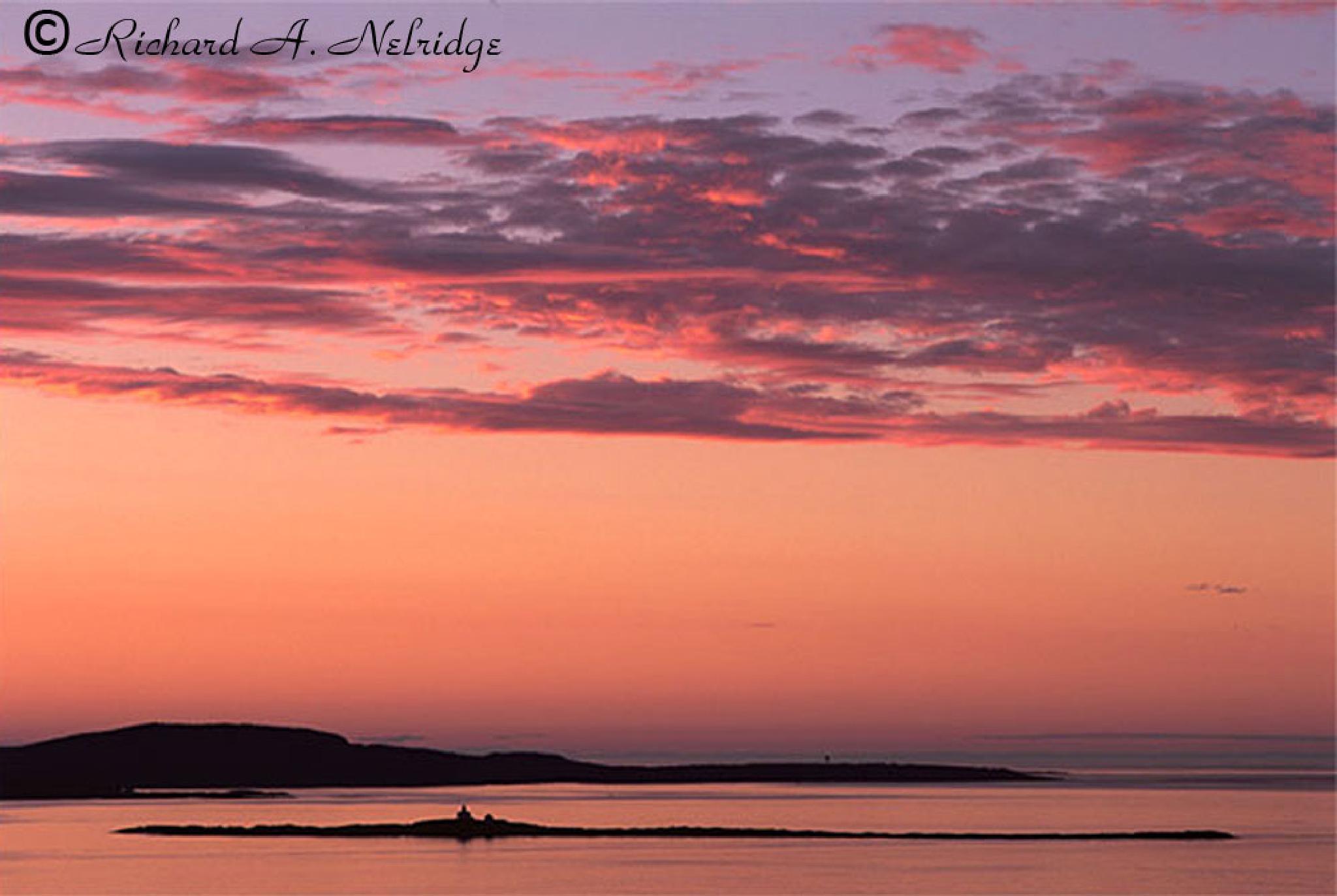 Dawn at Egg Rock by Richard Nelridge