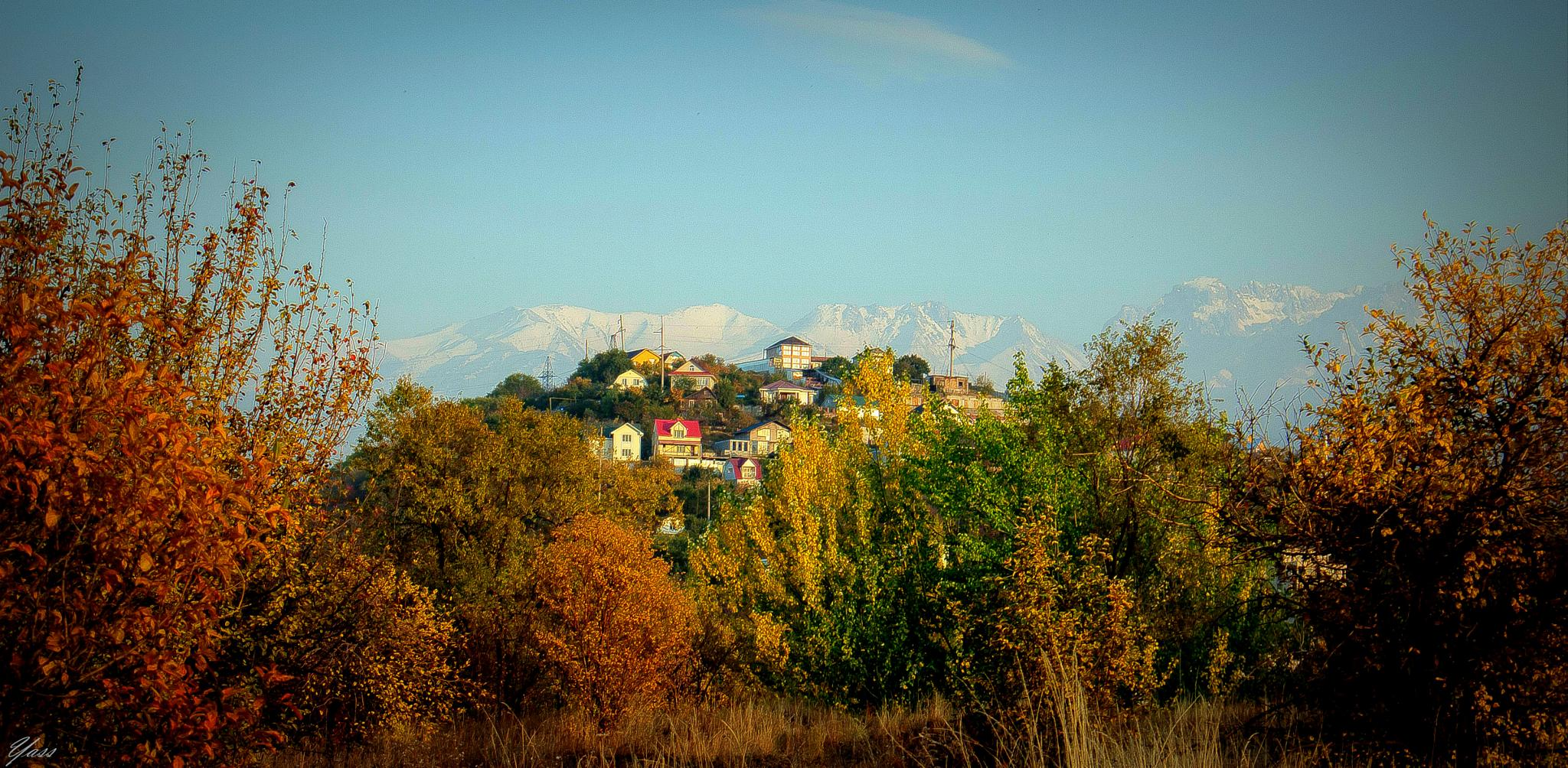 Prettty village by yassen.botcharov