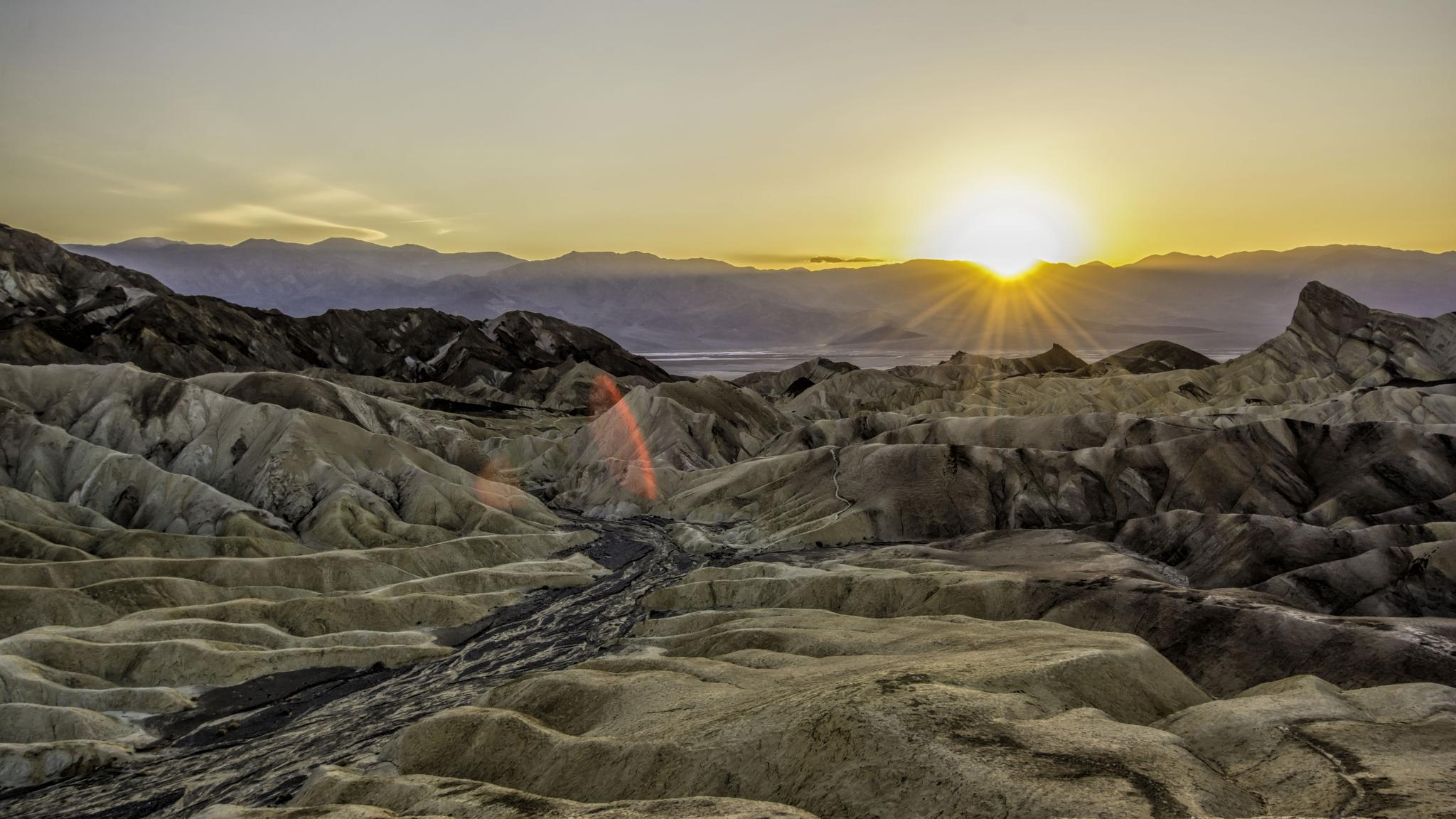 Zabriskie Point, Death Valley National Park, CA by steve jordan