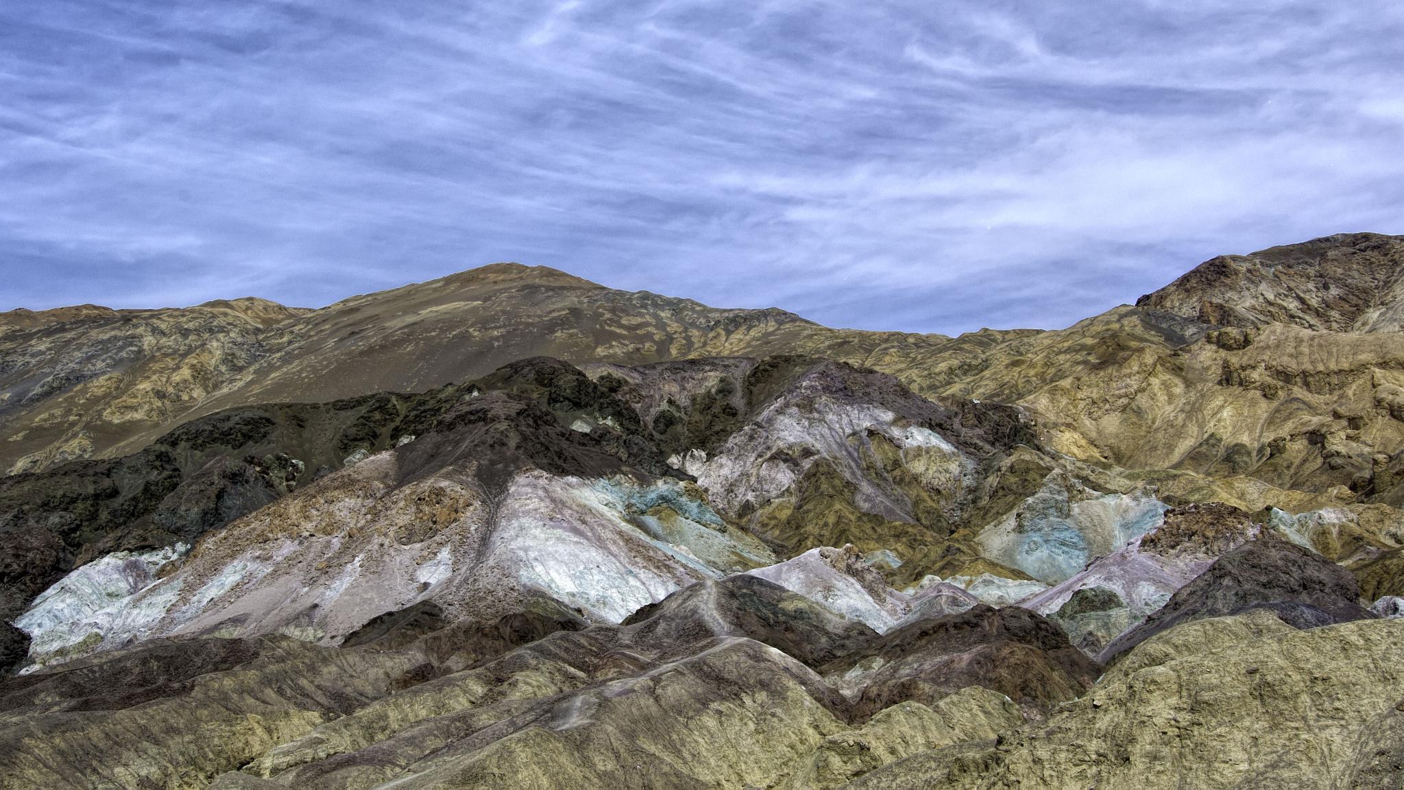 Artist's Palette, Death Valley National Park, CA by steve jordan