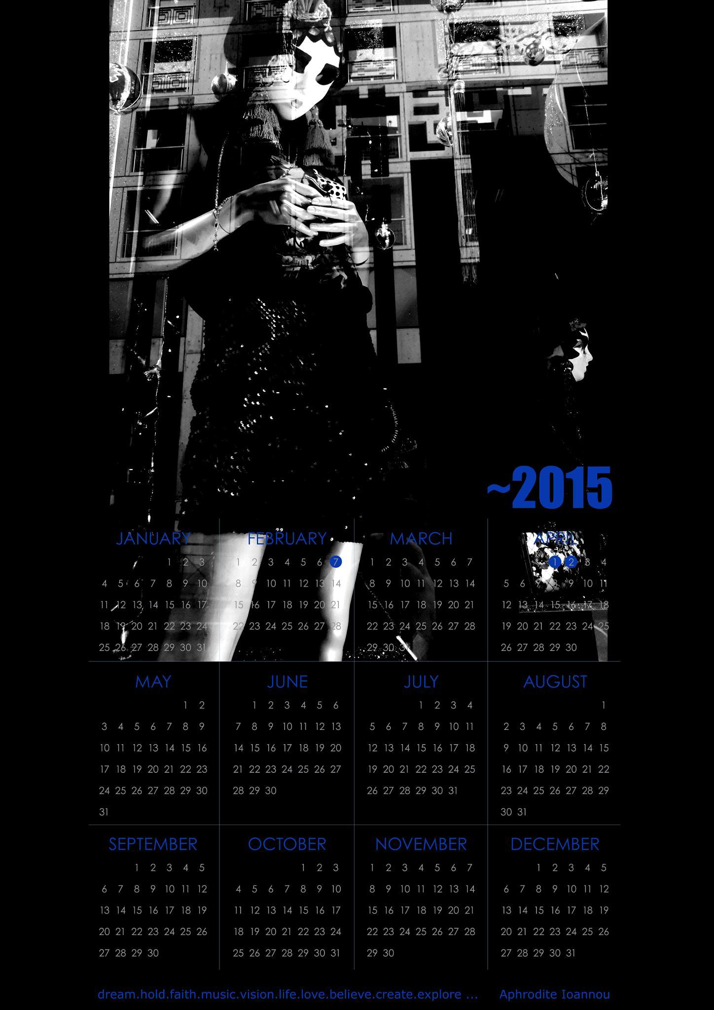 2015 Photo Calendar by Aphrodite Ioannou by aphrodite_ioannou