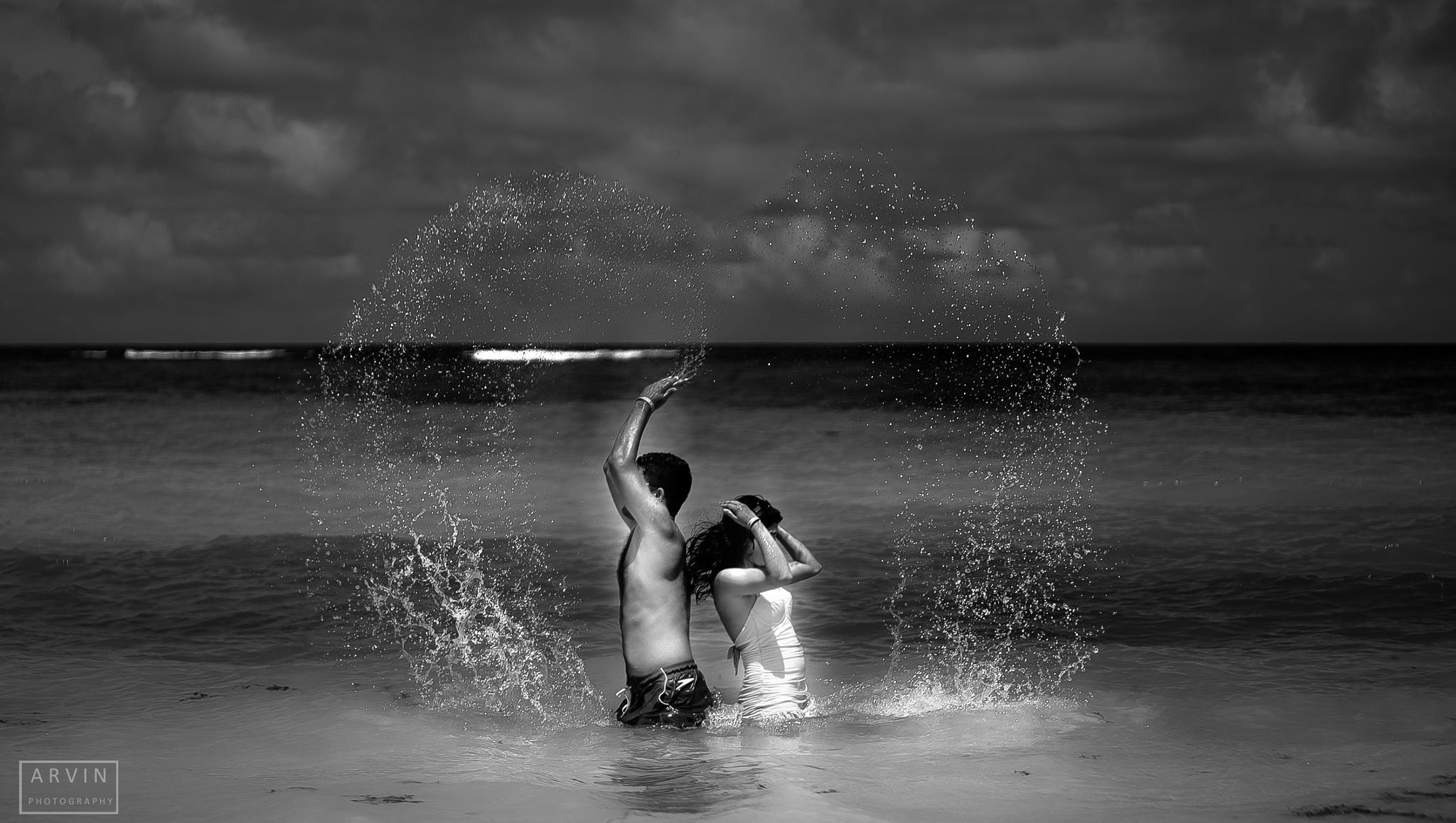 A Splash of Love by Arvin Eskandarnia