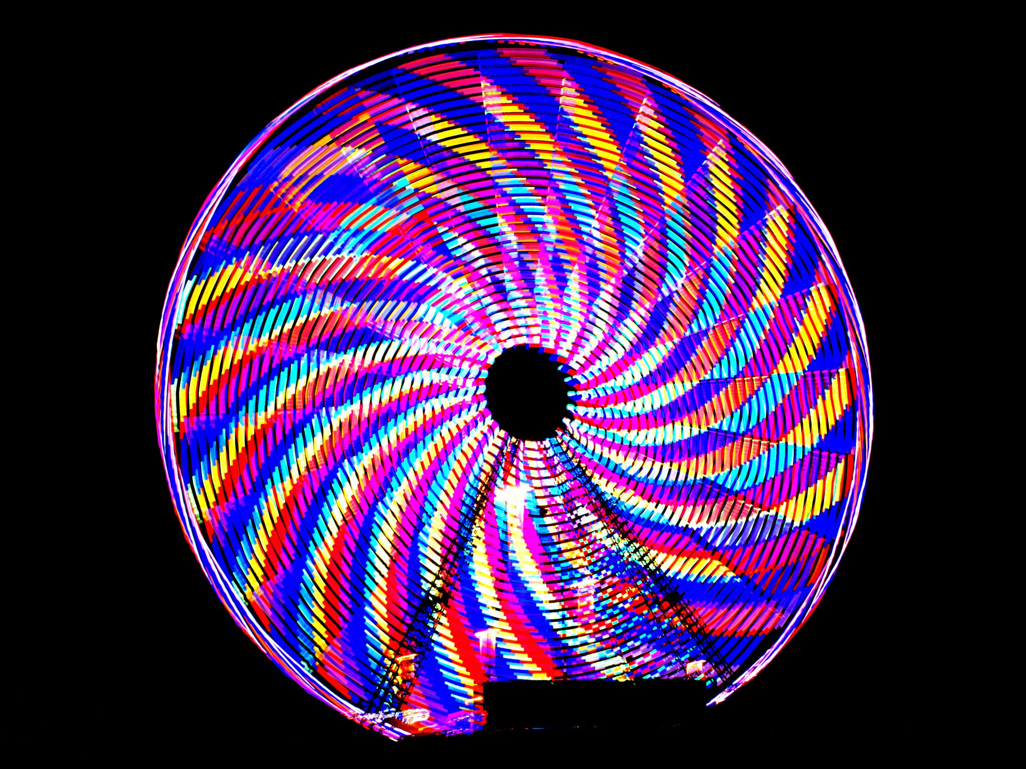 Landmark Pinwheel by Wayne V. Hall (WALL Photography and Design)