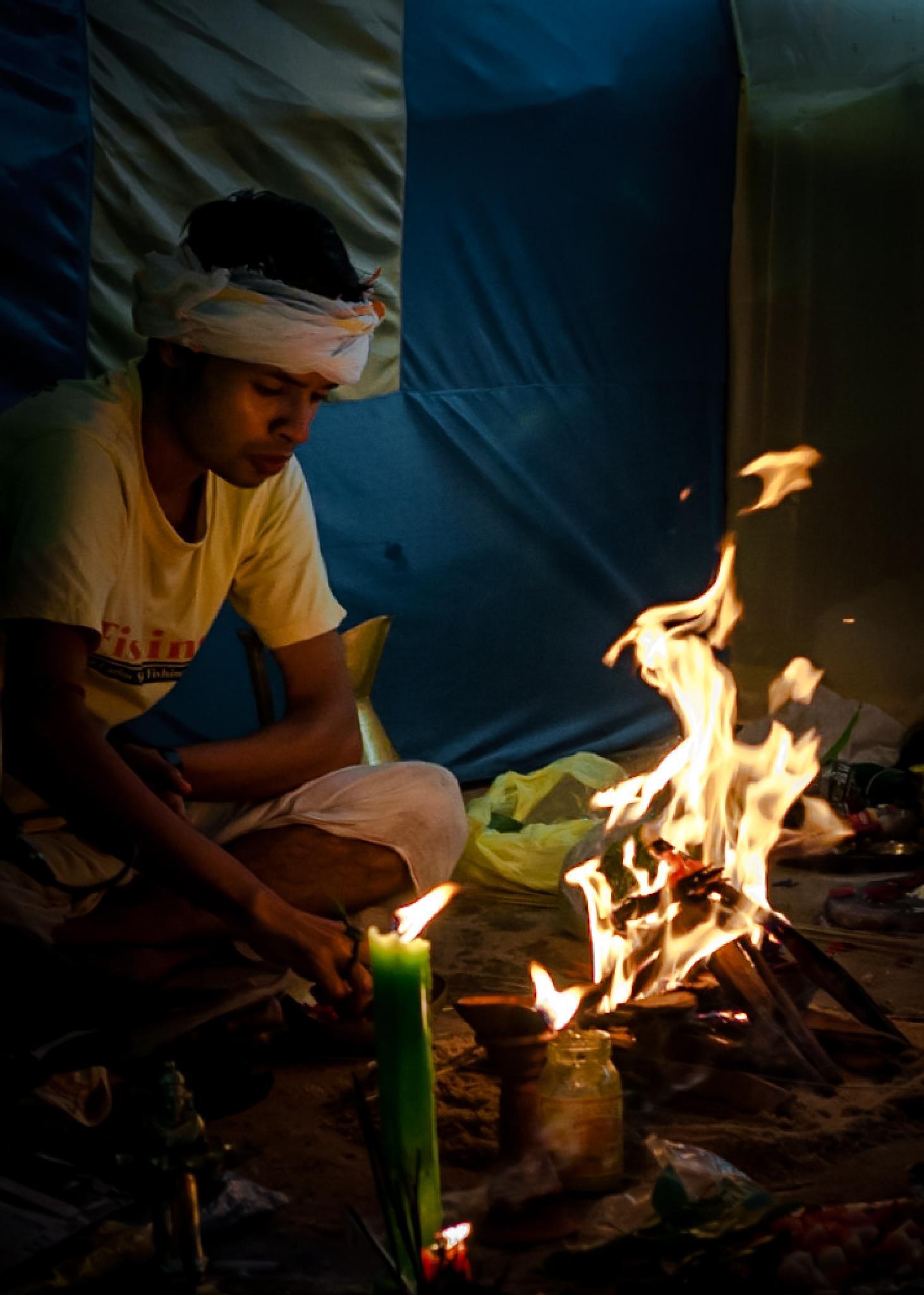 The Holy Fire by Santanu Chandra