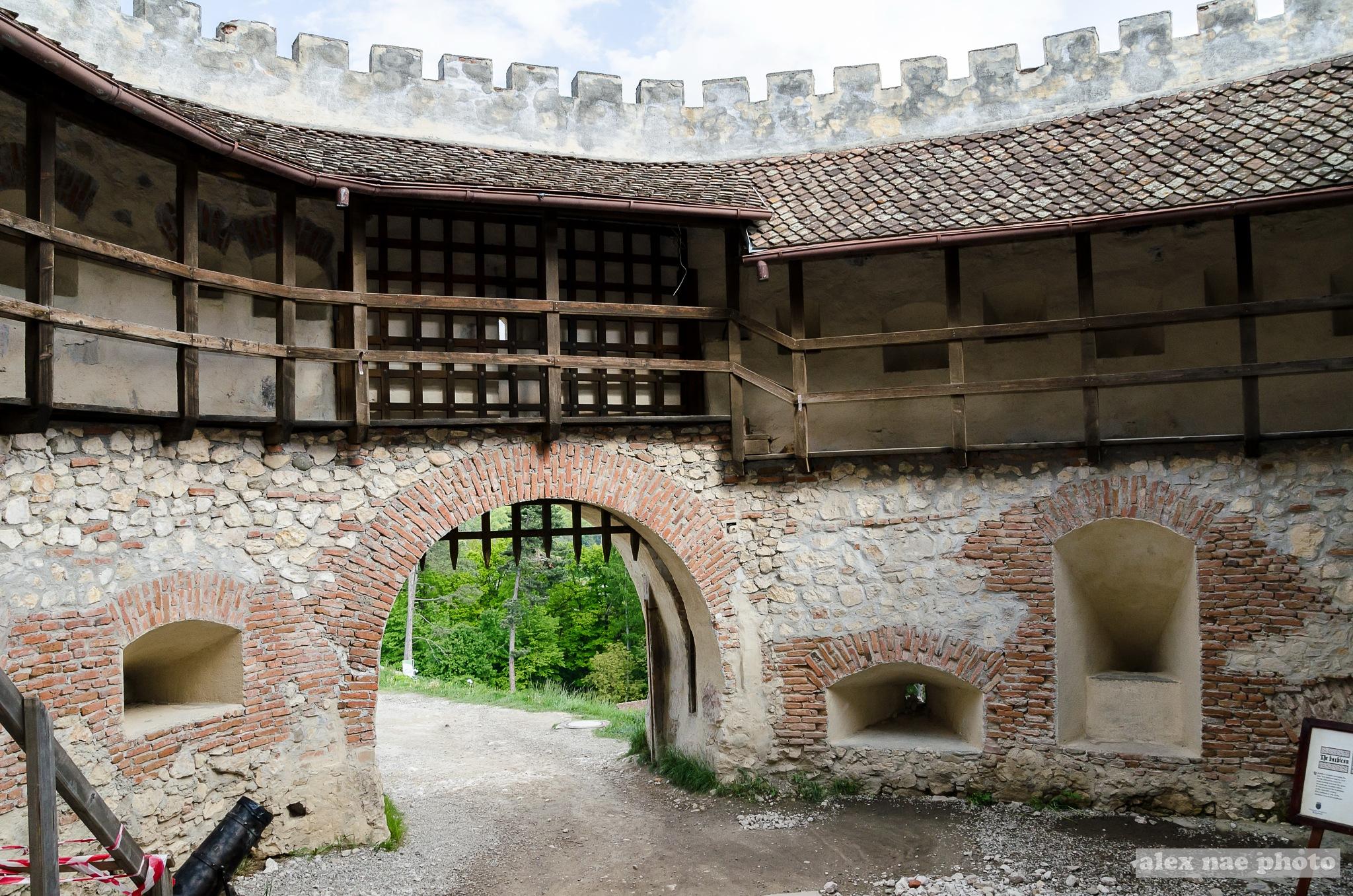 Inside Rosenau Fortress - I by alexandru nae