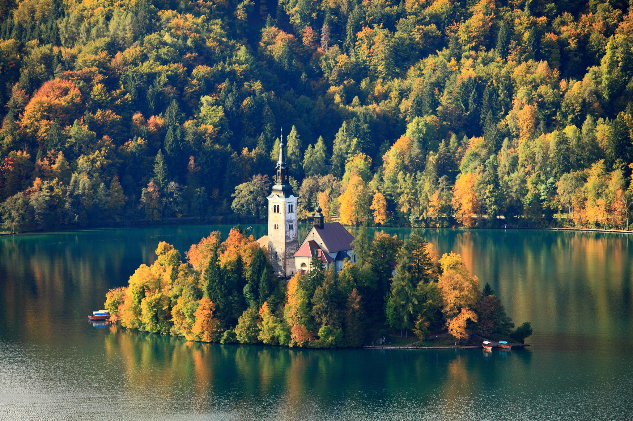 Bled Church by Kyle Bunting