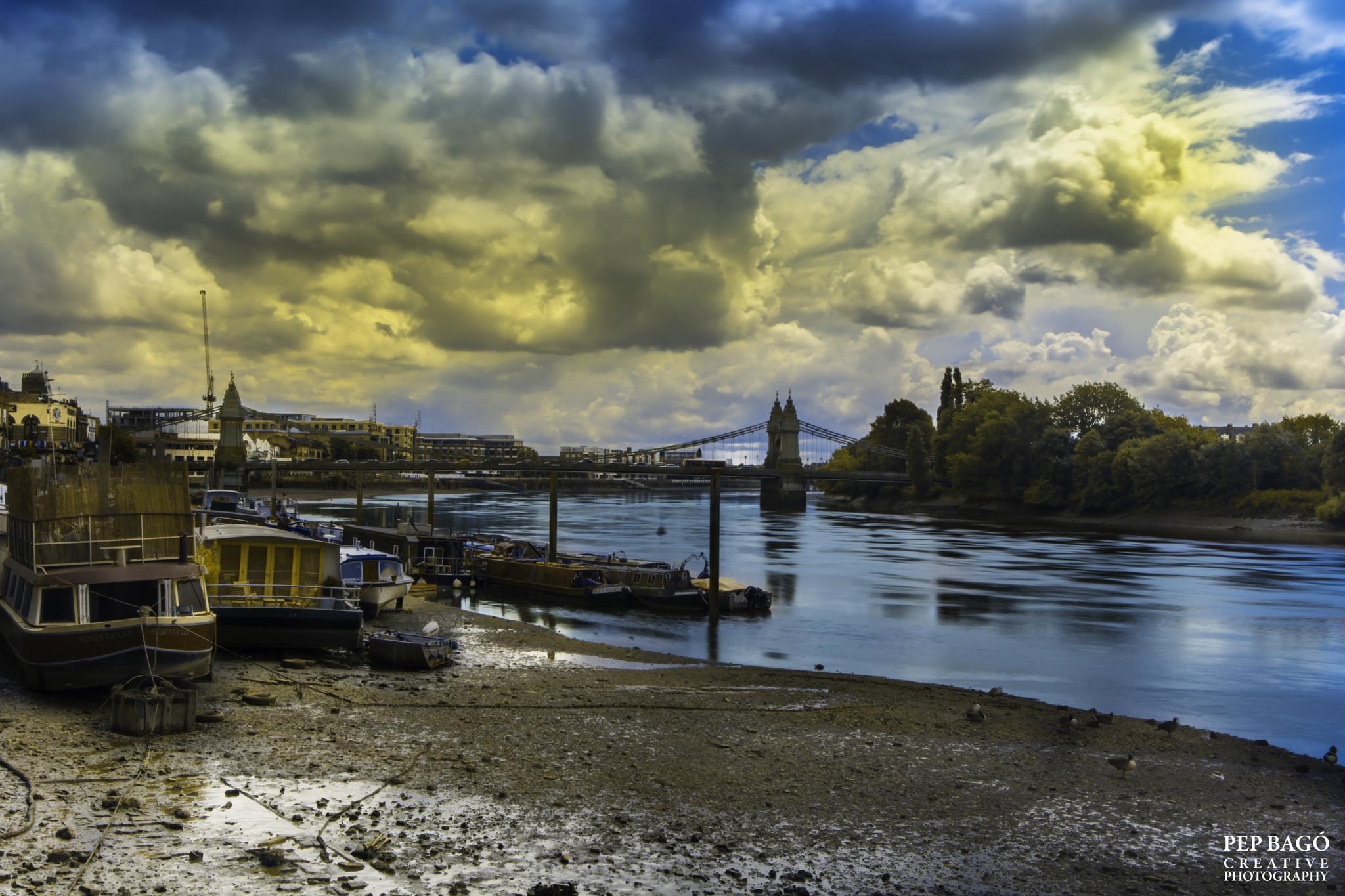 Hammersmith Marina by pepbago