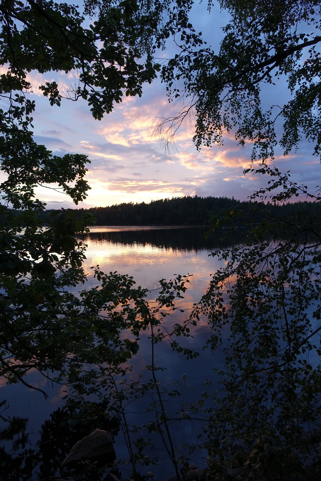 Septembernight at Raslången by peterliendeborg