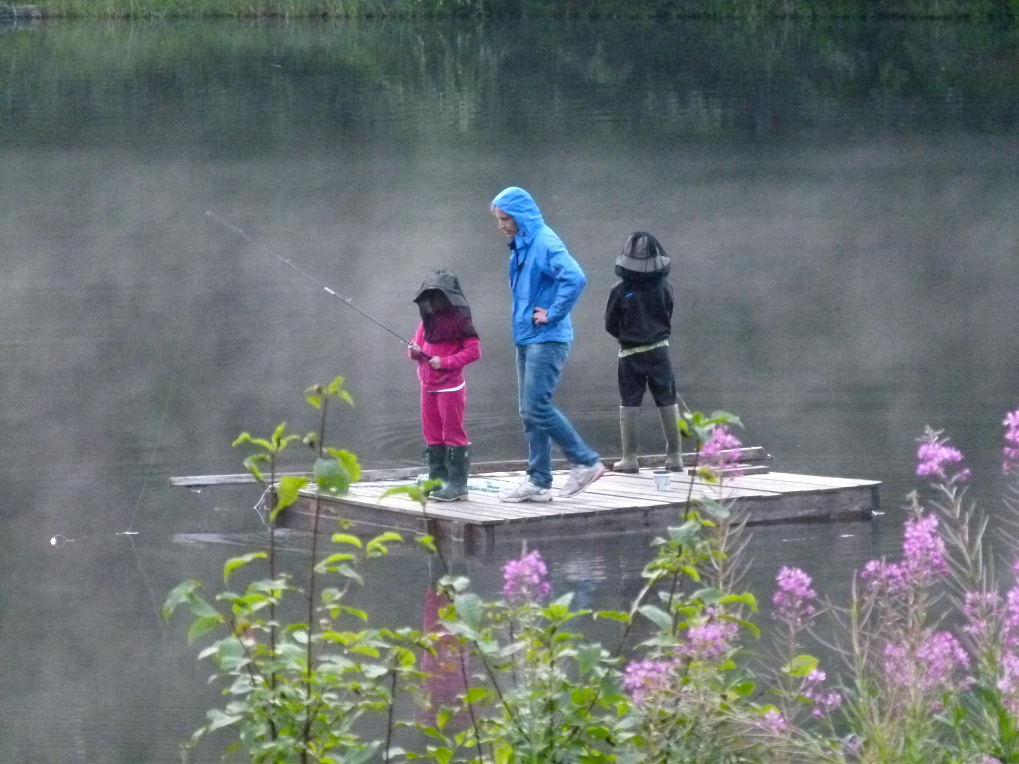 Fishing by peterliendeborg