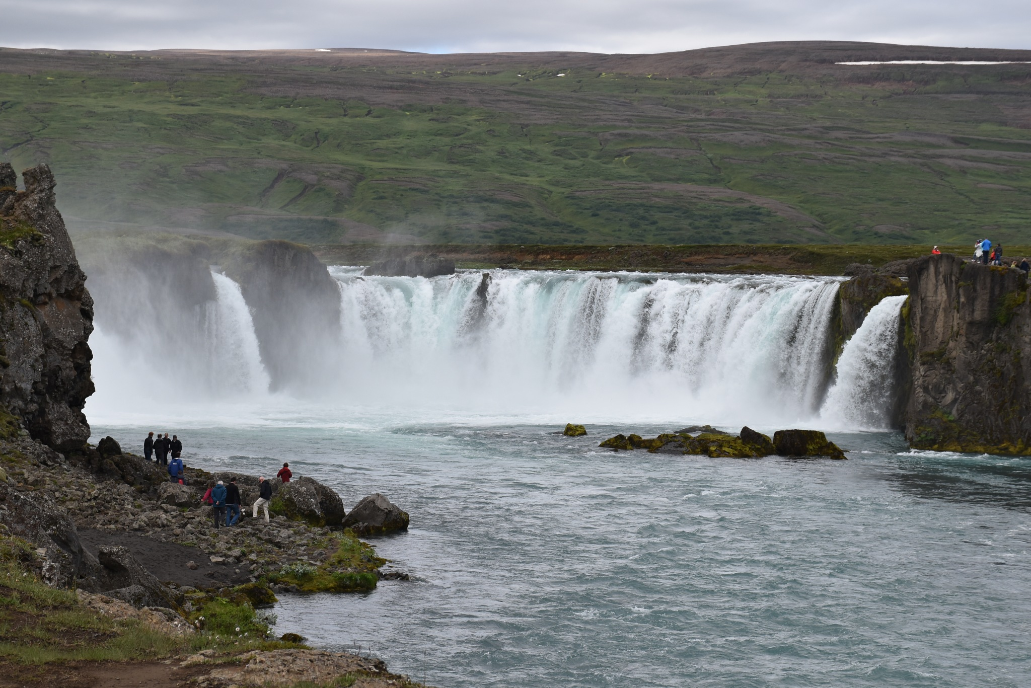 Godafoss by Gergely Talaber